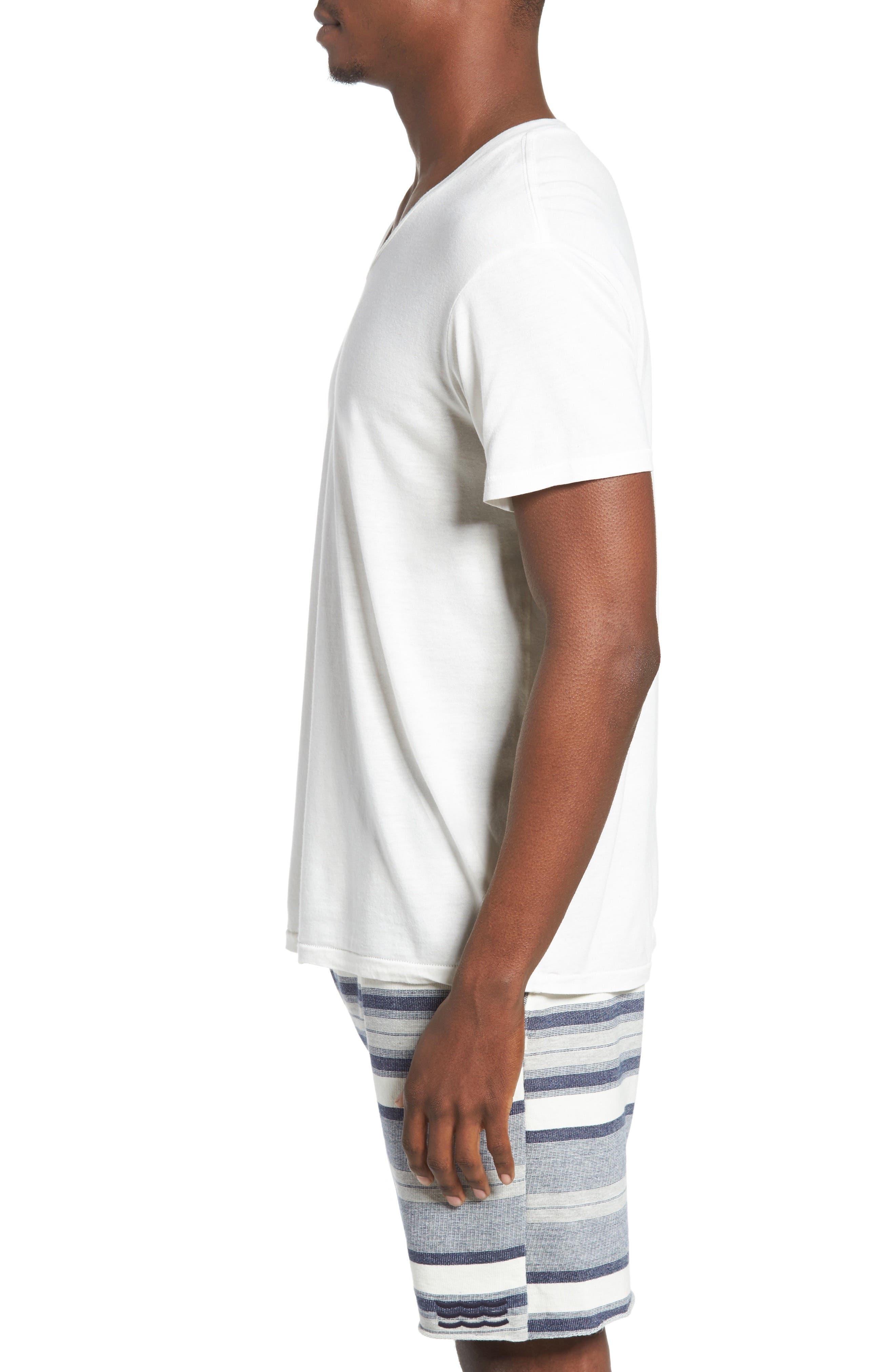 Essential V-Neck T-Shirt,                             Alternate thumbnail 26, color,