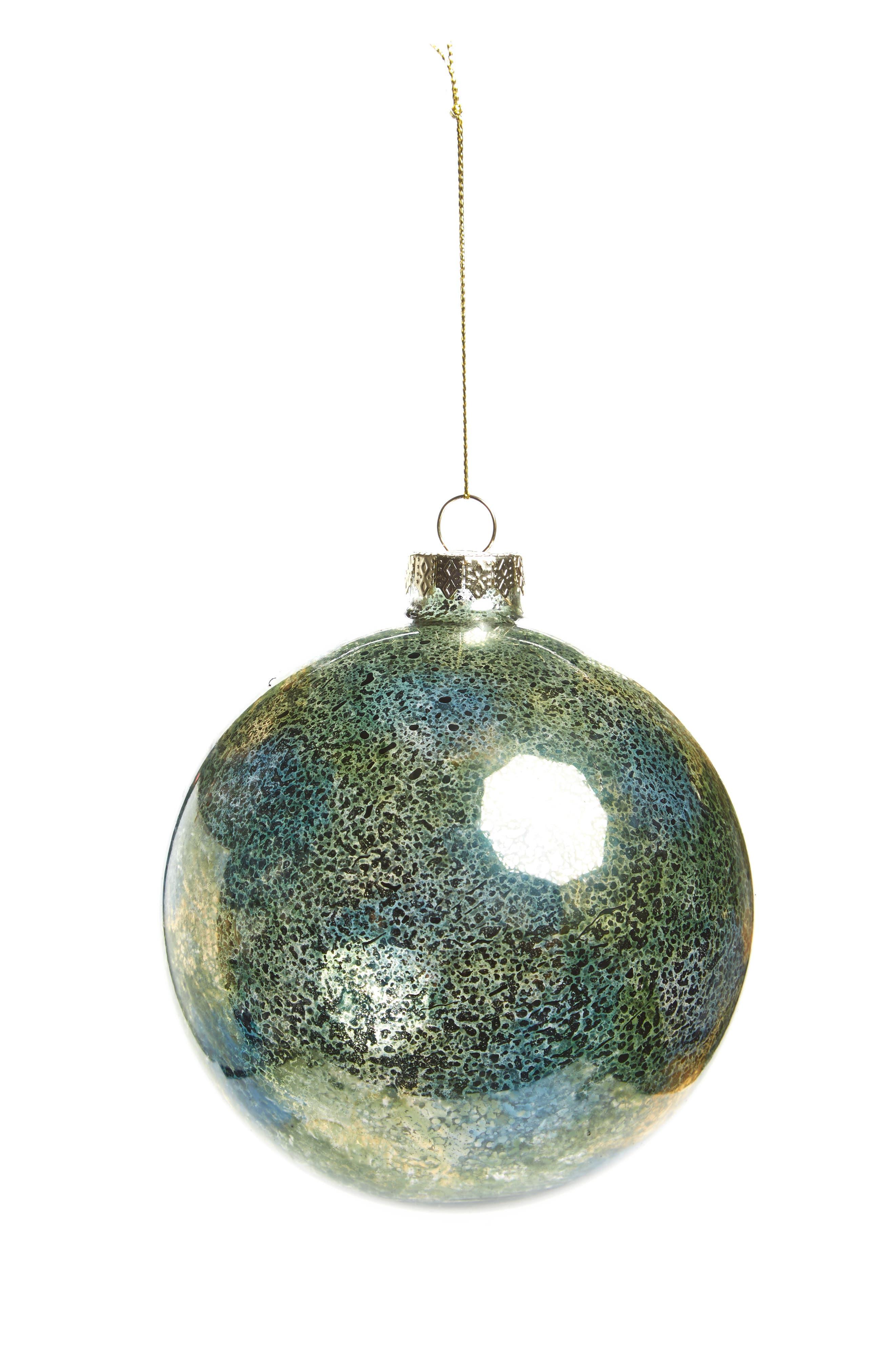Mercury Glass Ball Ornament,                             Main thumbnail 1, color,                             300