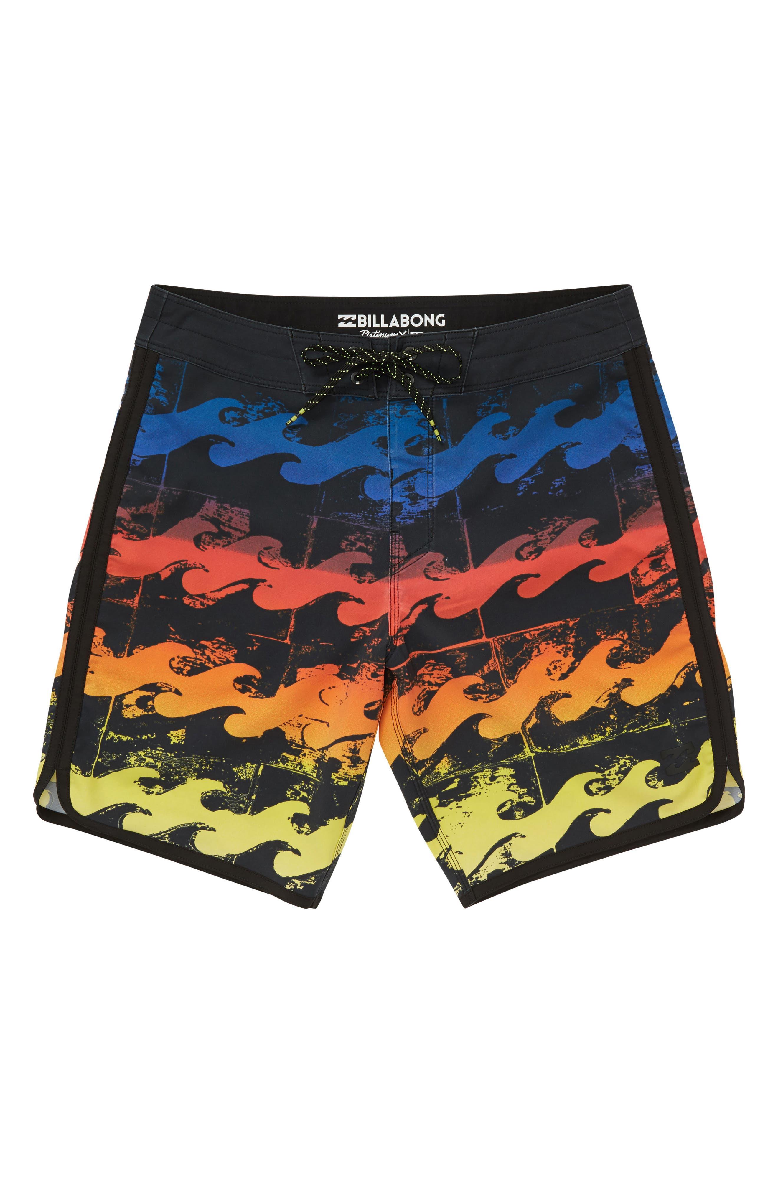 73 X Line Up Board Shorts,                             Main thumbnail 1, color,                             300