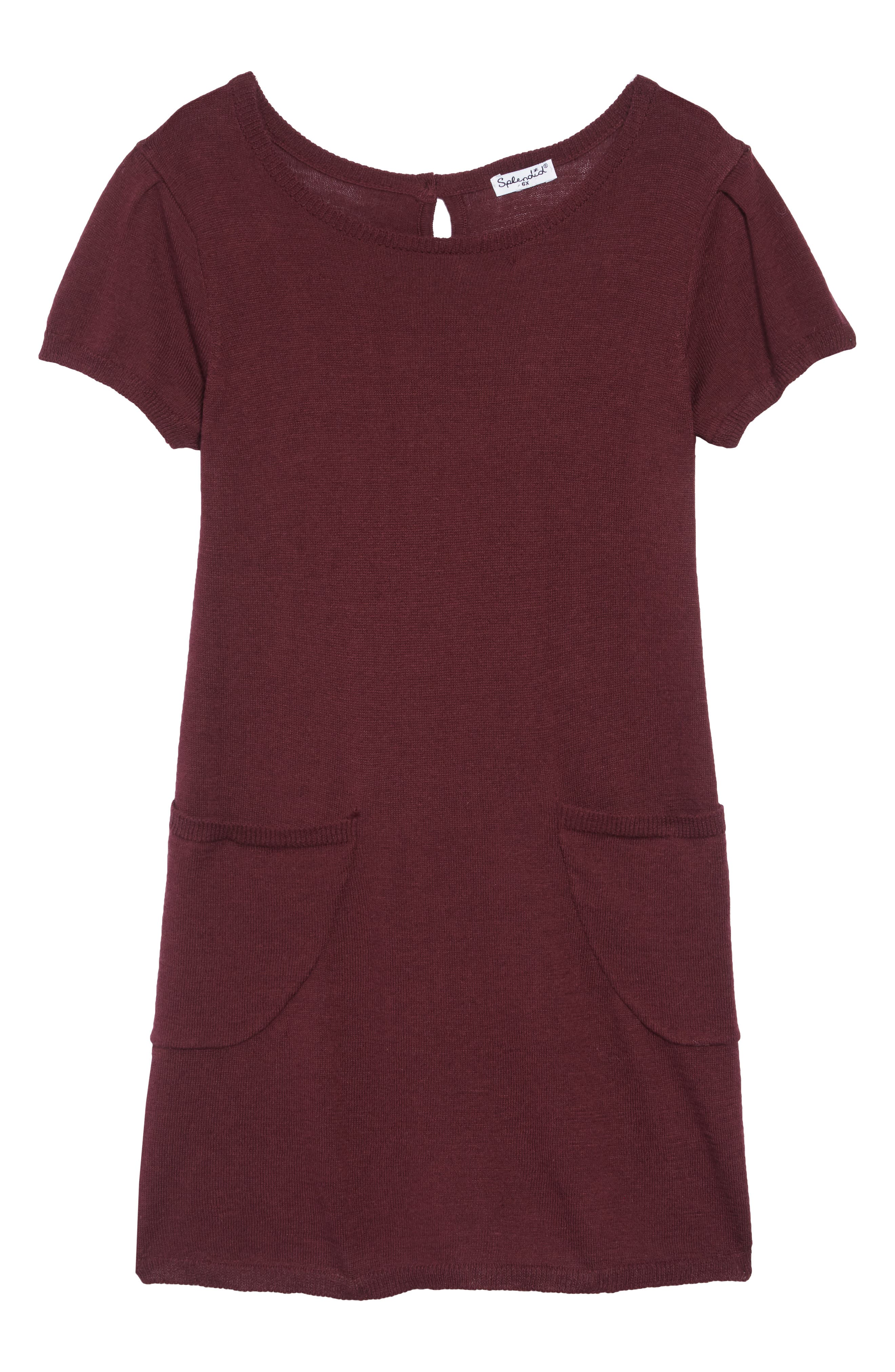 Sweater Dress,                         Main,                         color, FIG