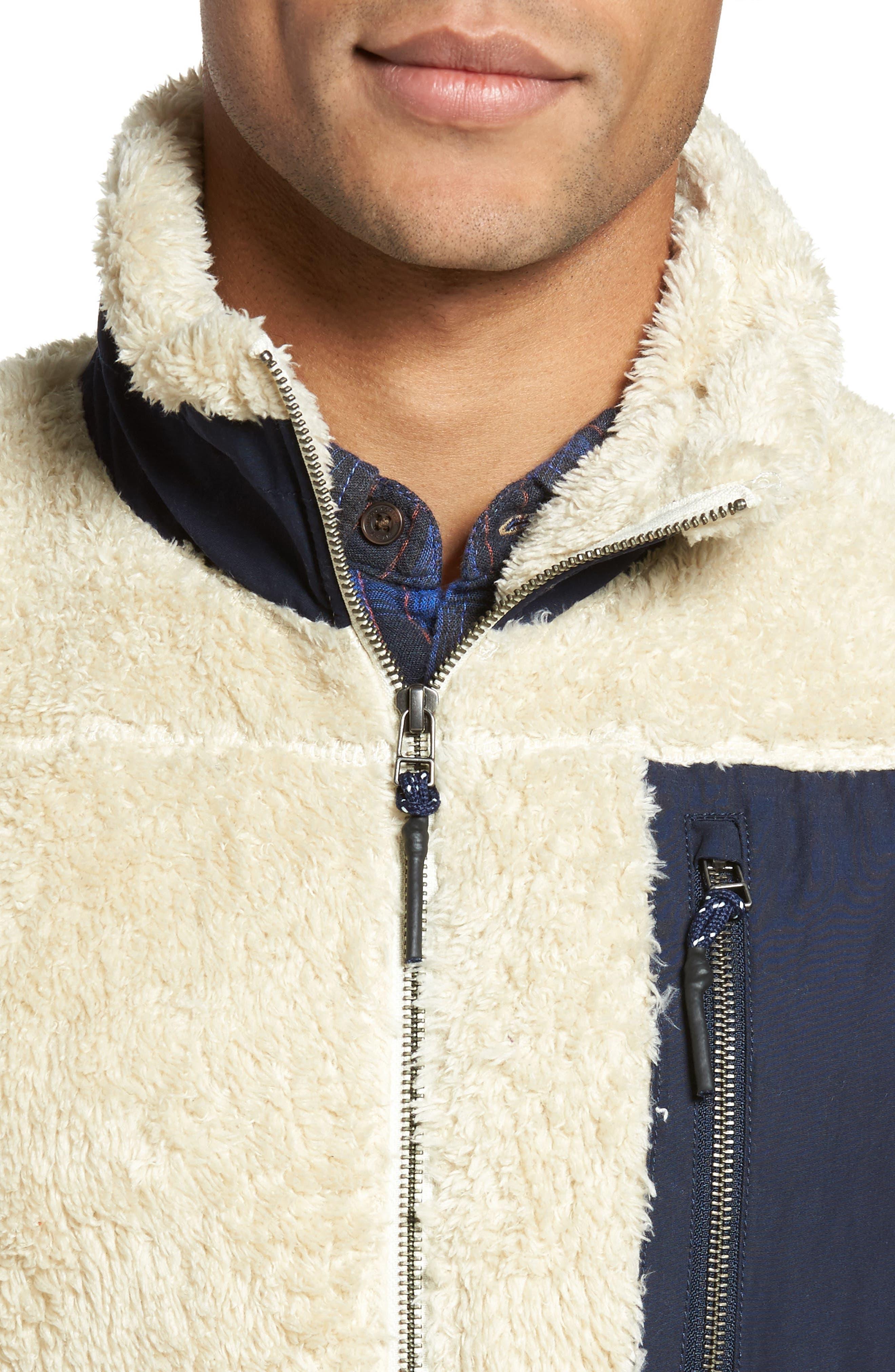 Colorblock Fleece Vest,                             Alternate thumbnail 4, color,                             103