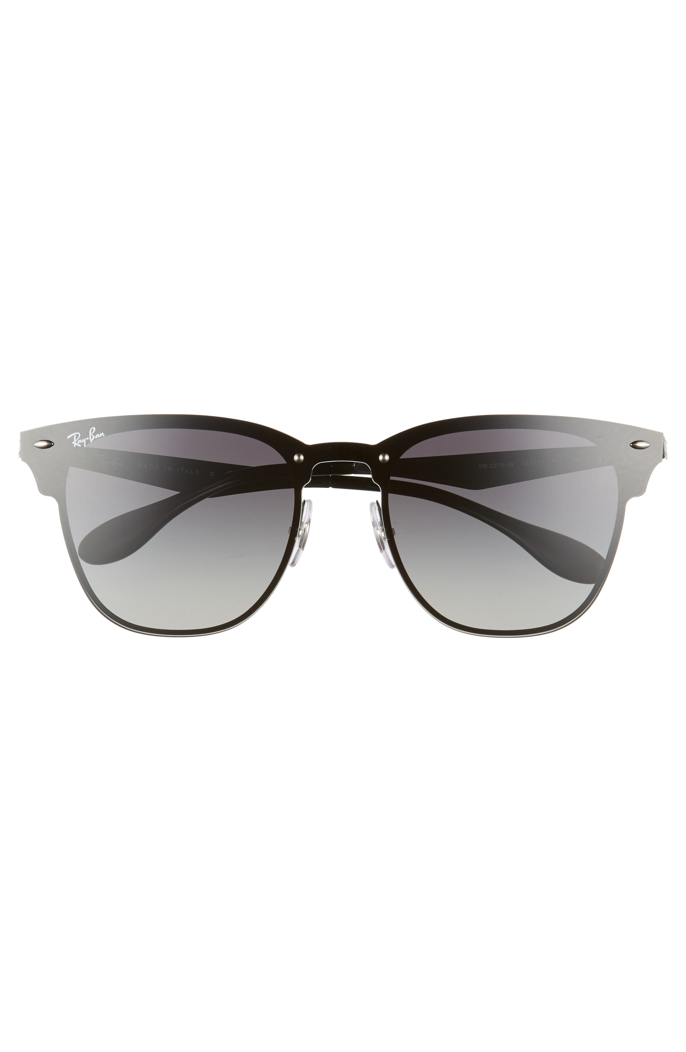 Blaze Clubmaster 47mm Sunglasses,                             Alternate thumbnail 6, color,
