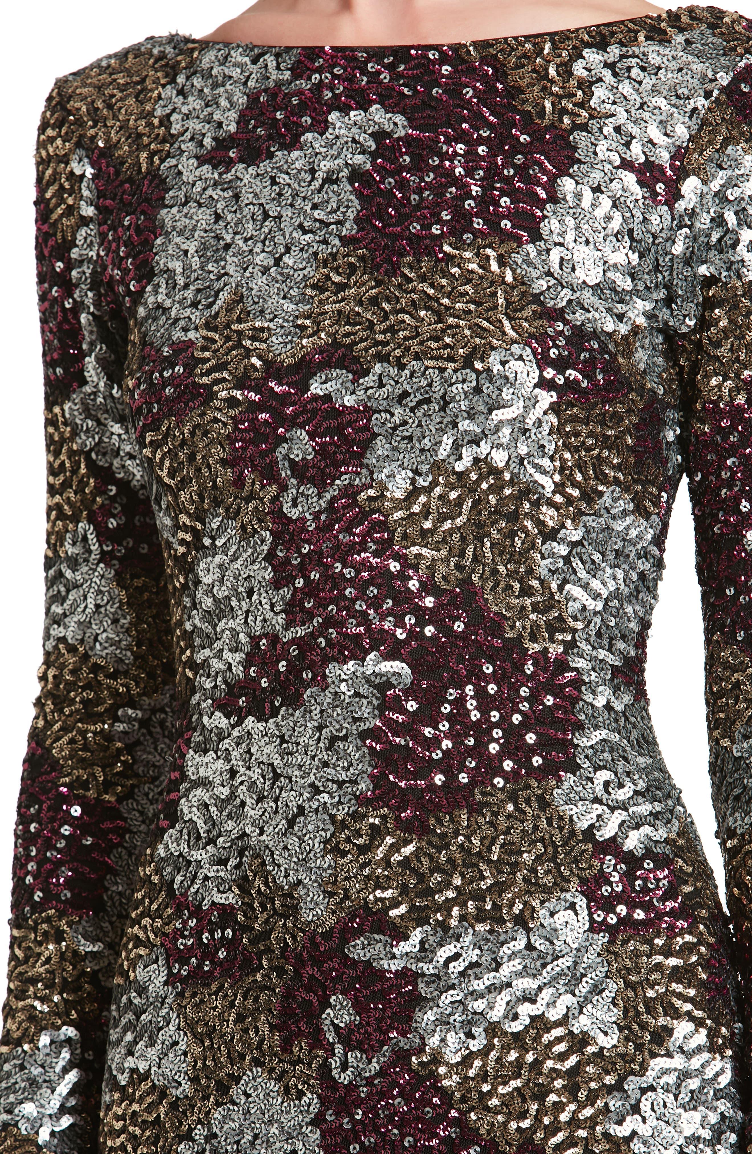 Brenna Scoop Back Dress,                             Alternate thumbnail 4, color,