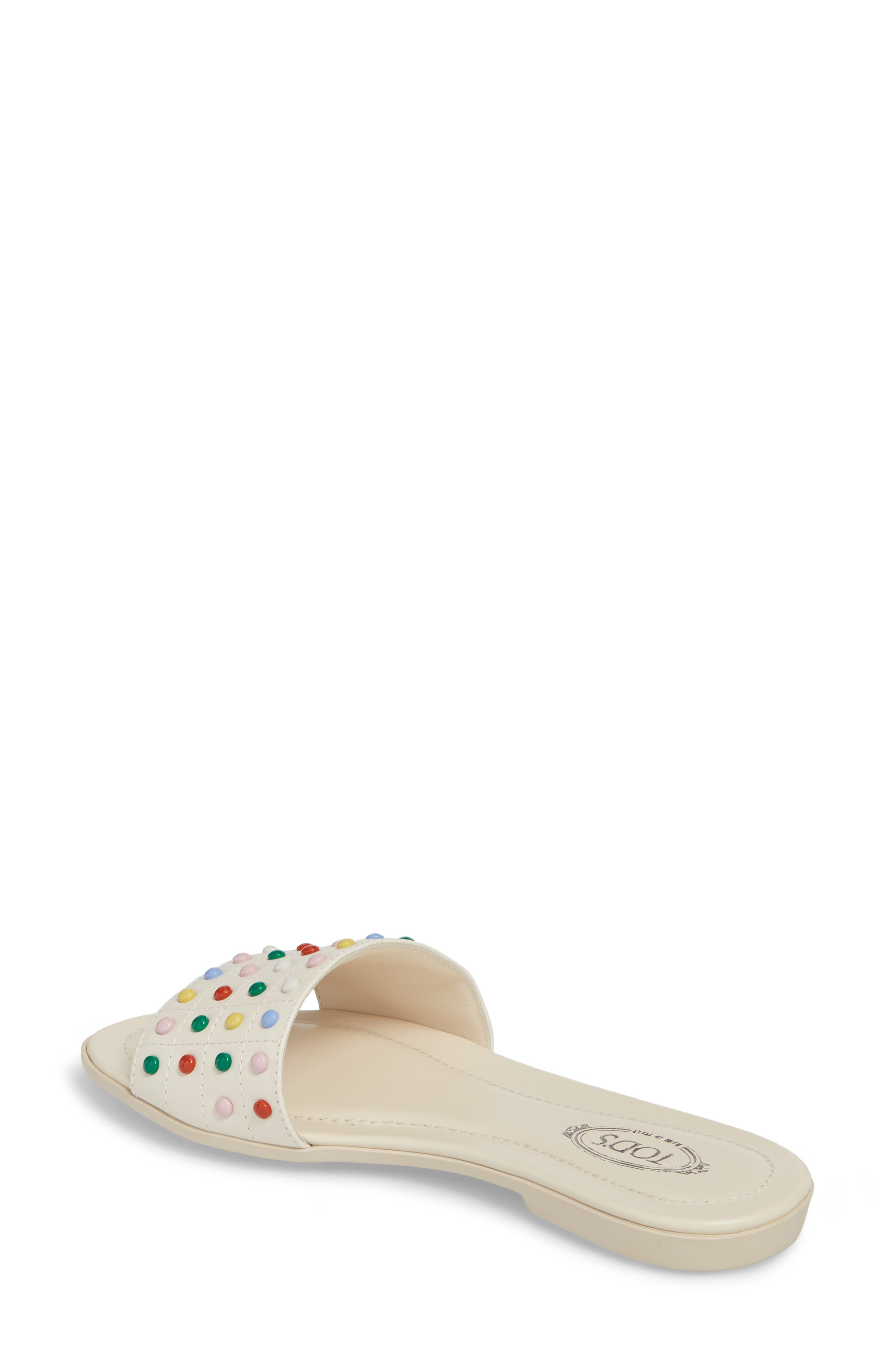 Gommini Slide Sandal,                             Alternate thumbnail 6, color,