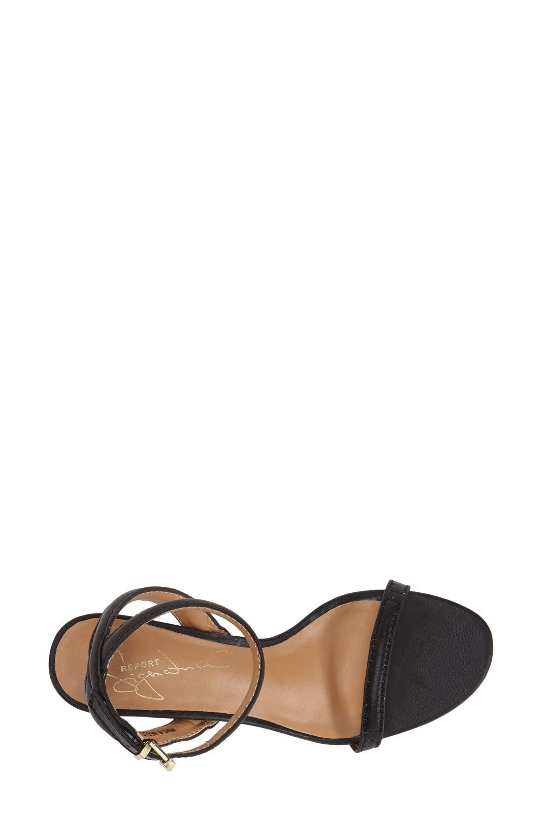 REPORT 'Signature Neely' Ankle Strap Sandal,                             Alternate thumbnail 2, color,                             001