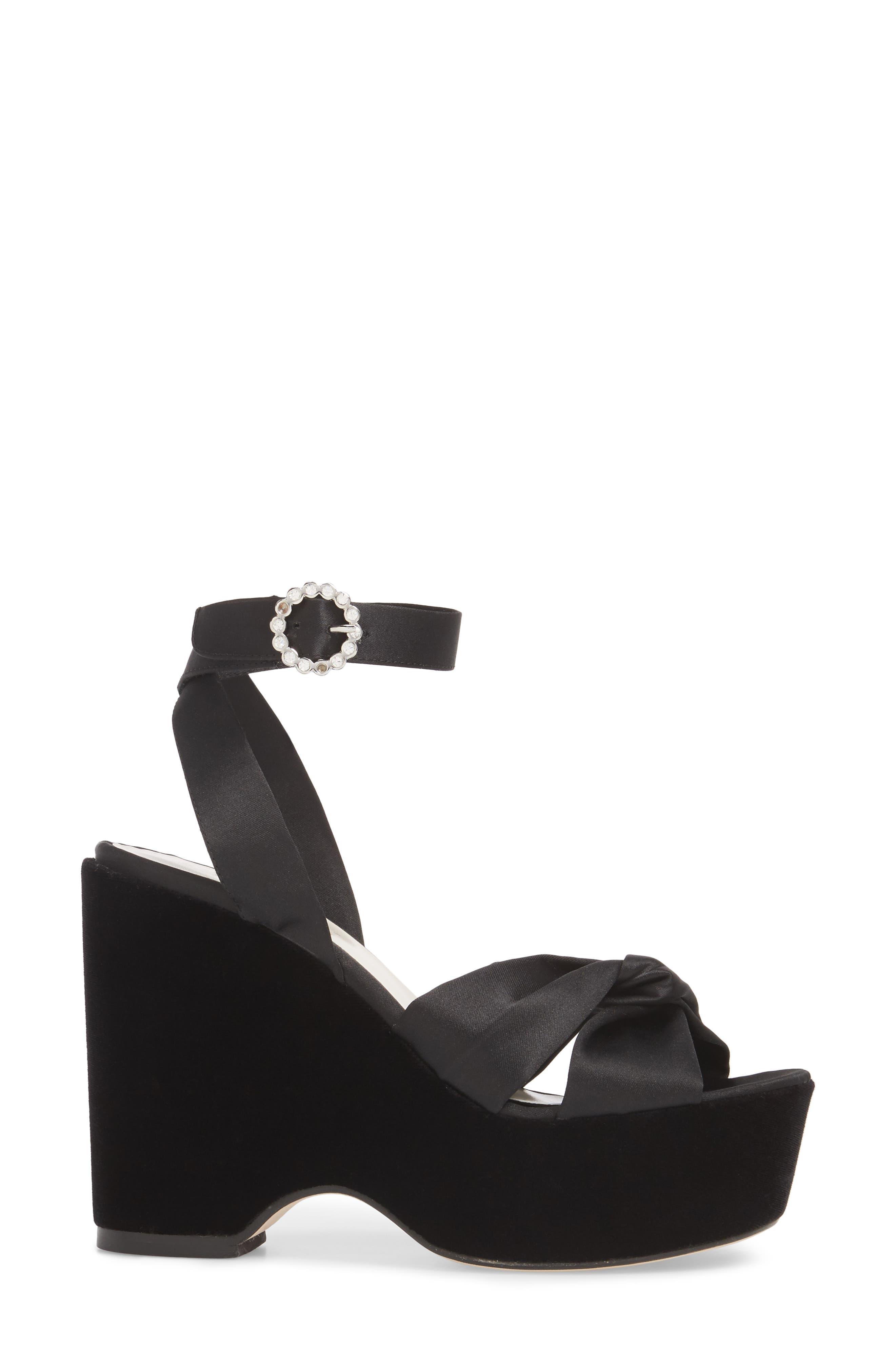 Serena Brocade Platform Sandal,                             Alternate thumbnail 9, color,