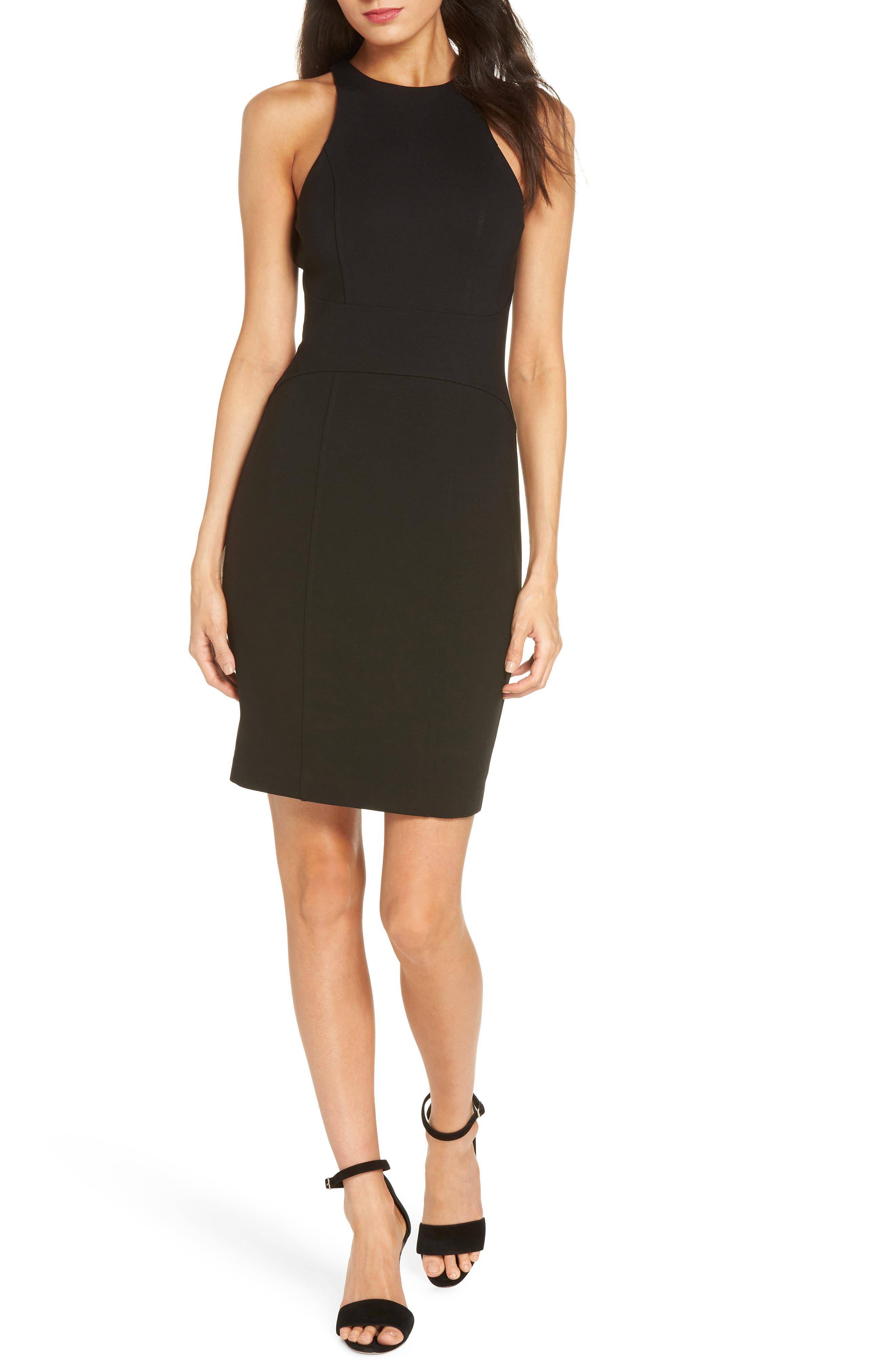 ALI & JAY You Ruin Me Body-Con Dress in Black