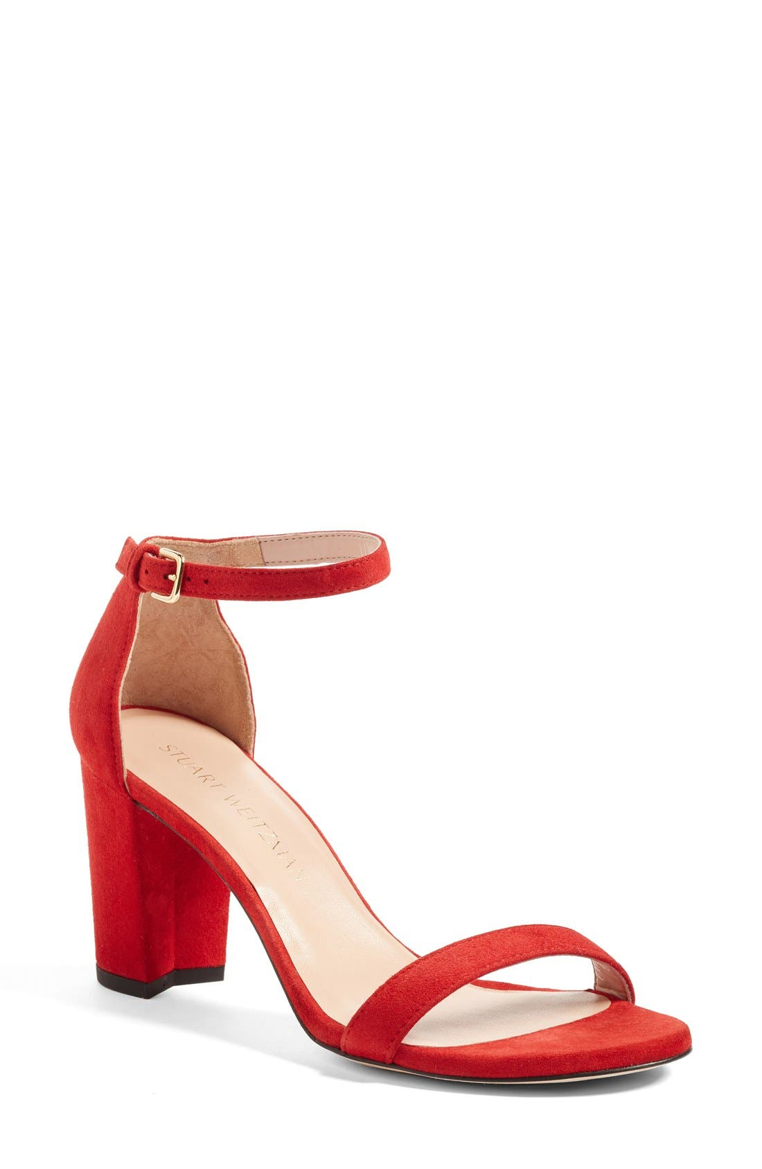 NearlyNude Ankle Strap Sandal,                             Main thumbnail 26, color,