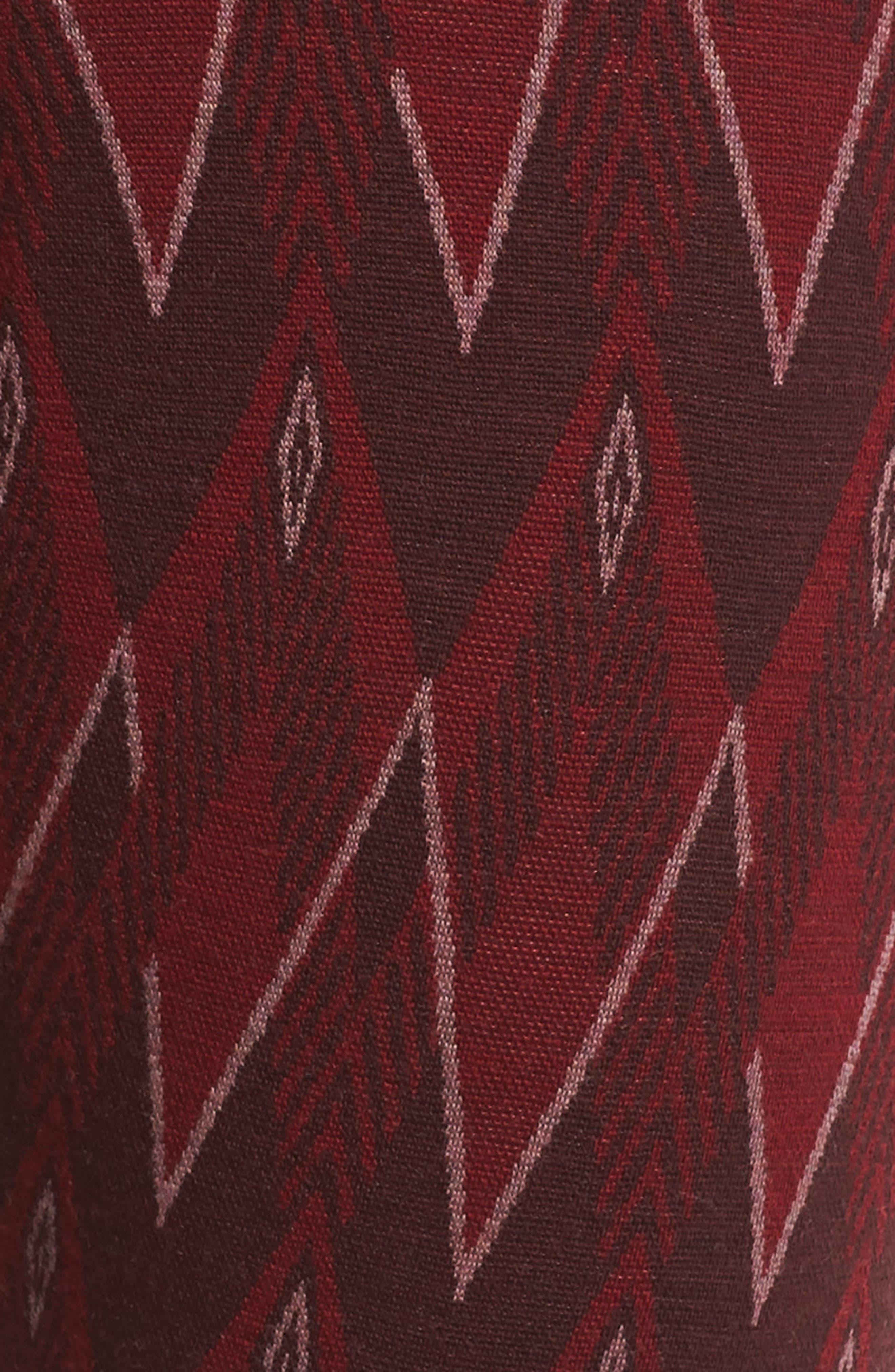 Merino 250 Base Layer Pattern Bottoms,                             Alternate thumbnail 6, color,                             TIBETAN RED