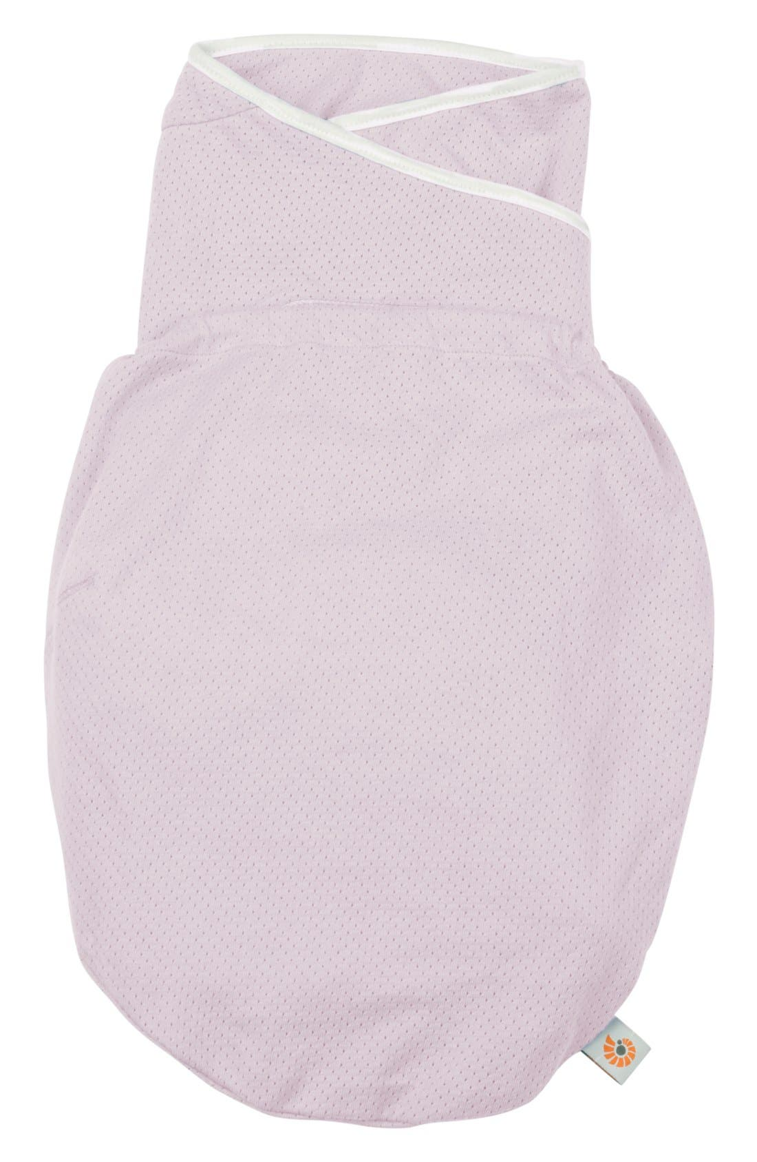 ERGOBABY 'Lightweight' Swaddler, Main, color, LILAC