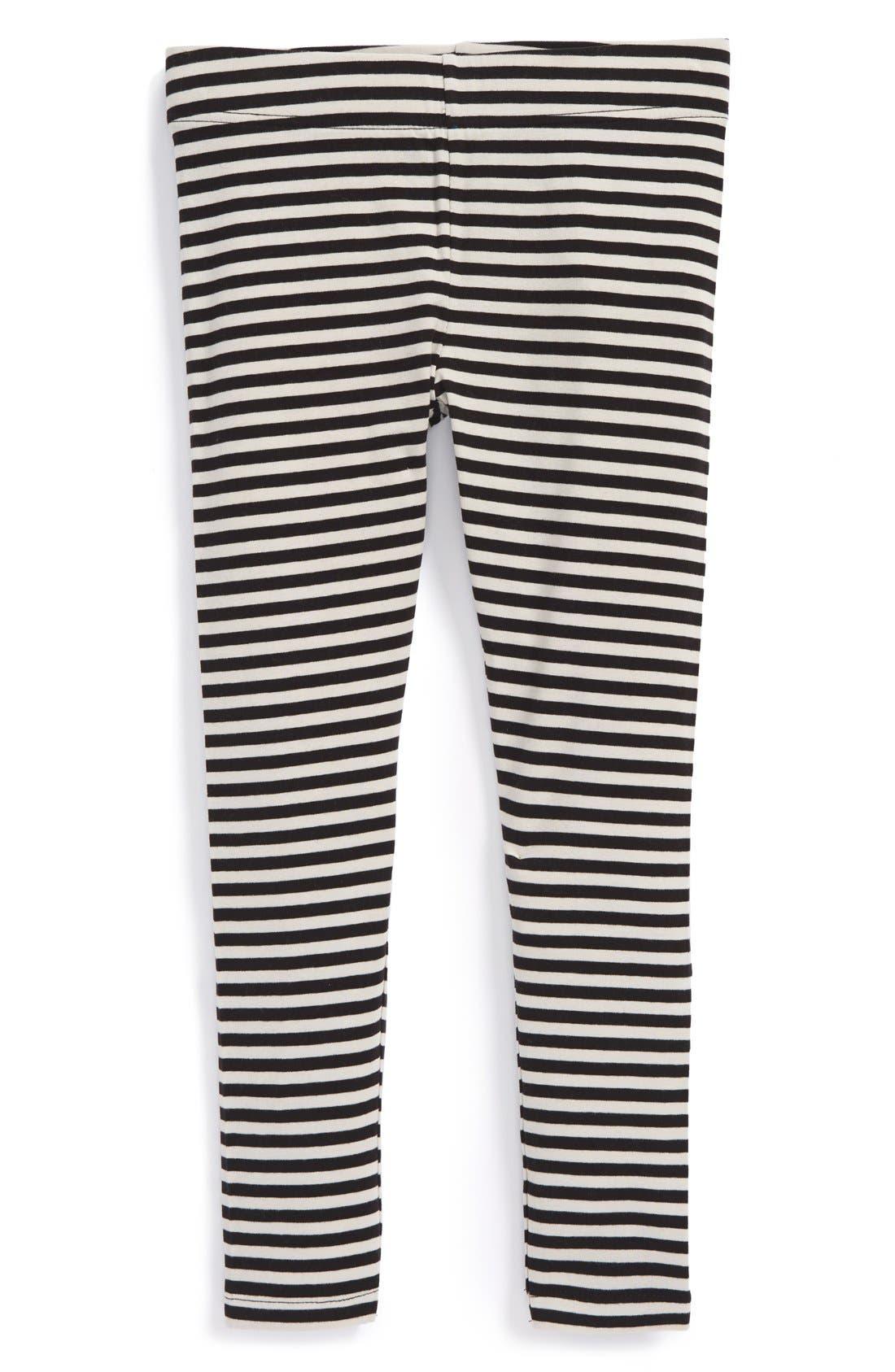 'Core' Striped Leggings,                             Main thumbnail 3, color,
