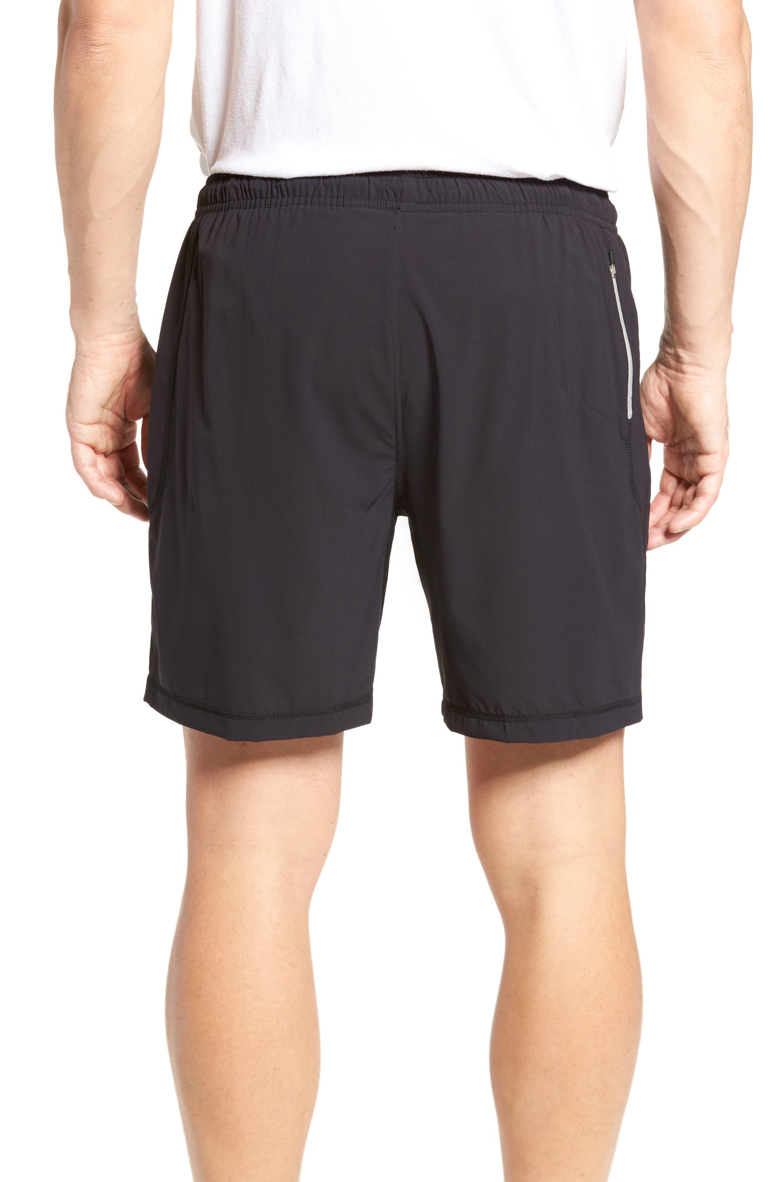 Propulsion Athletic Shorts,                             Alternate thumbnail 2, color,                             BLACK