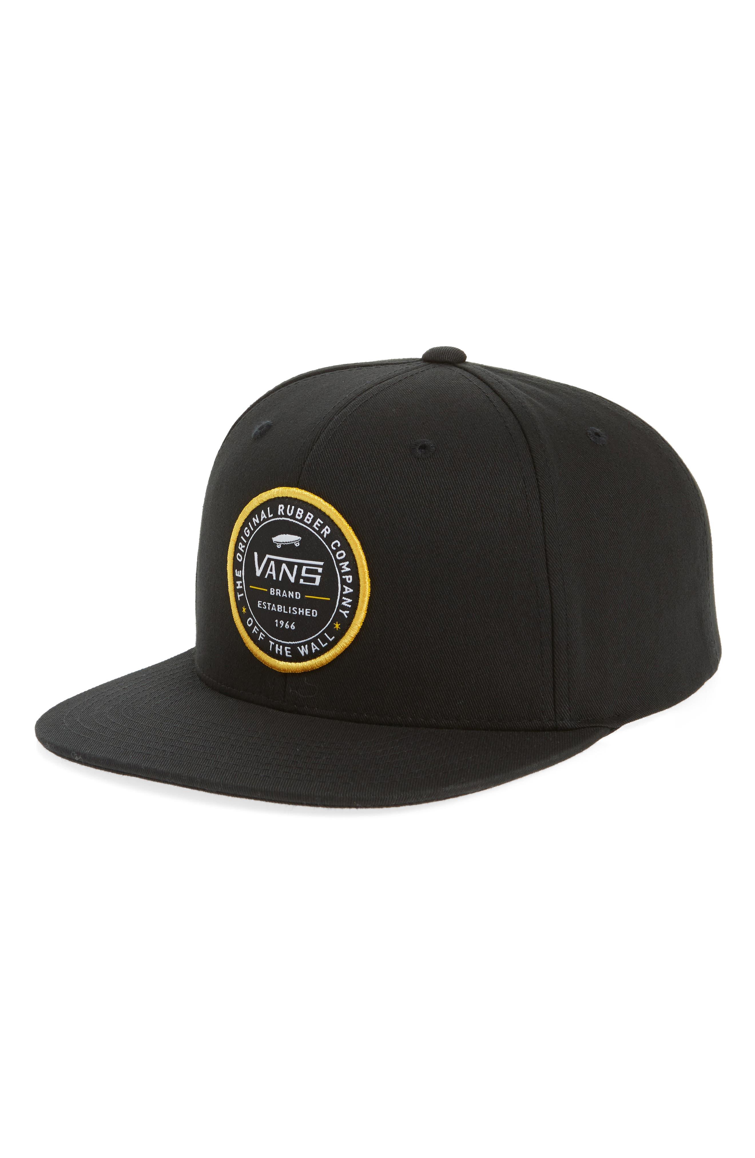 Established 66 Snapback Baseball Cap,                             Main thumbnail 1, color,                             001