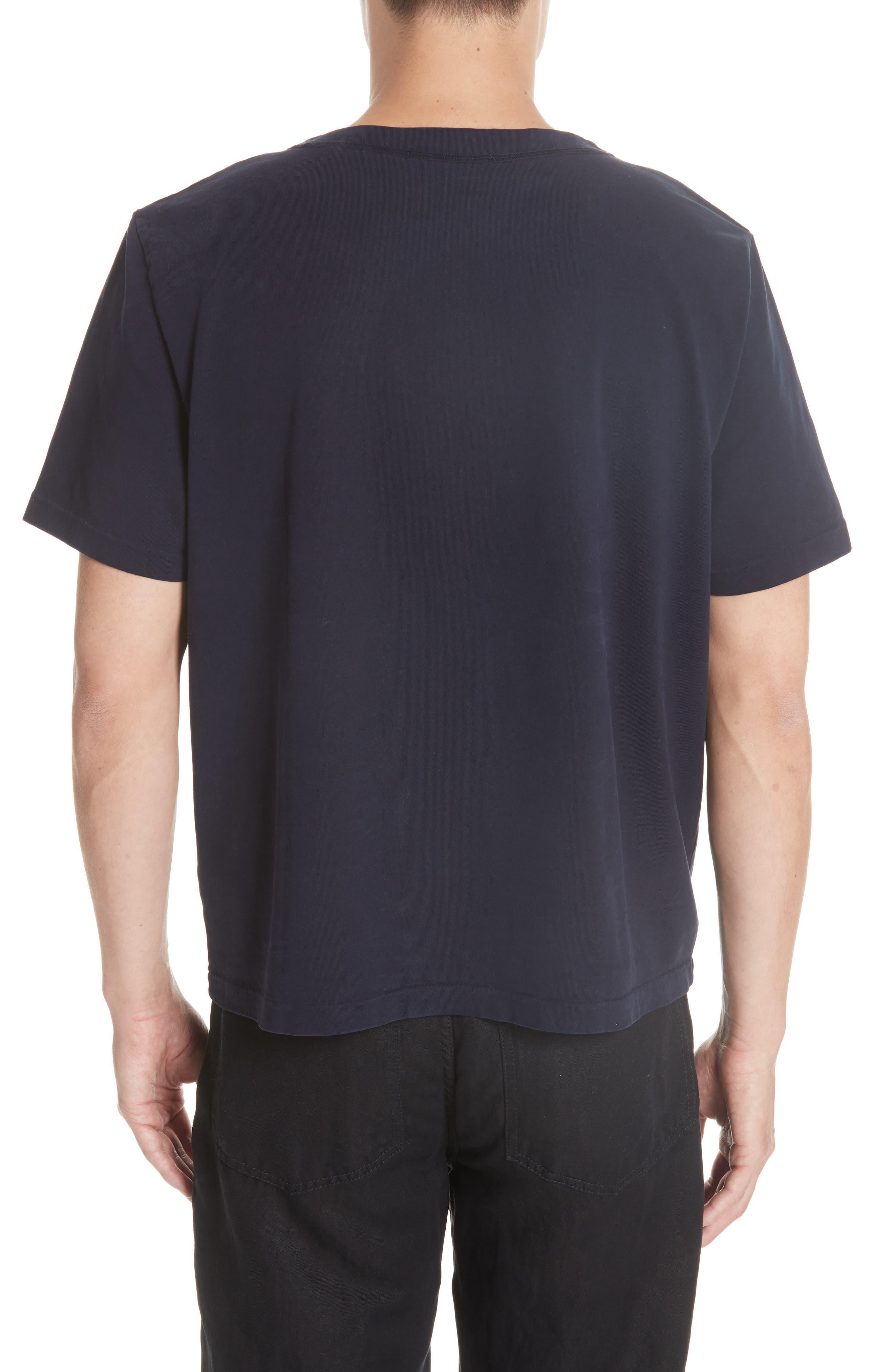 Clean Box T-Shirt,                             Alternate thumbnail 2, color,                             NAVY