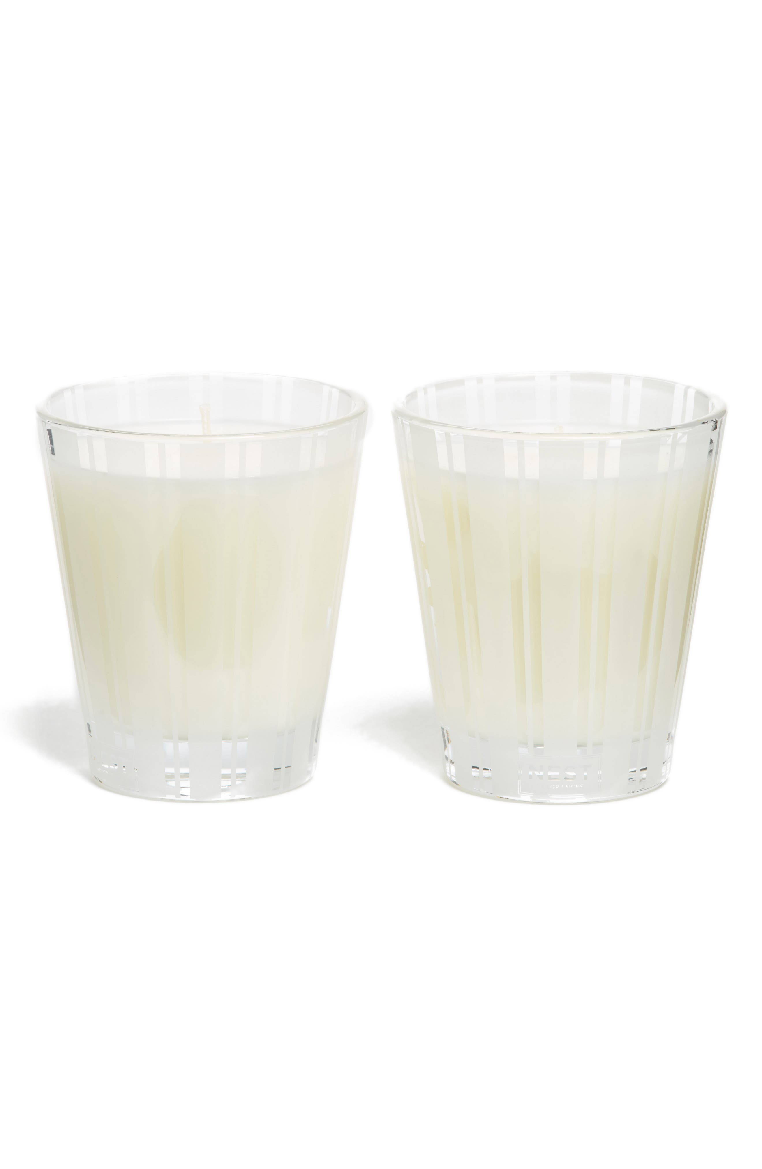 Grapefruit Scented Candle Duo,                             Main thumbnail 1, color,                             000