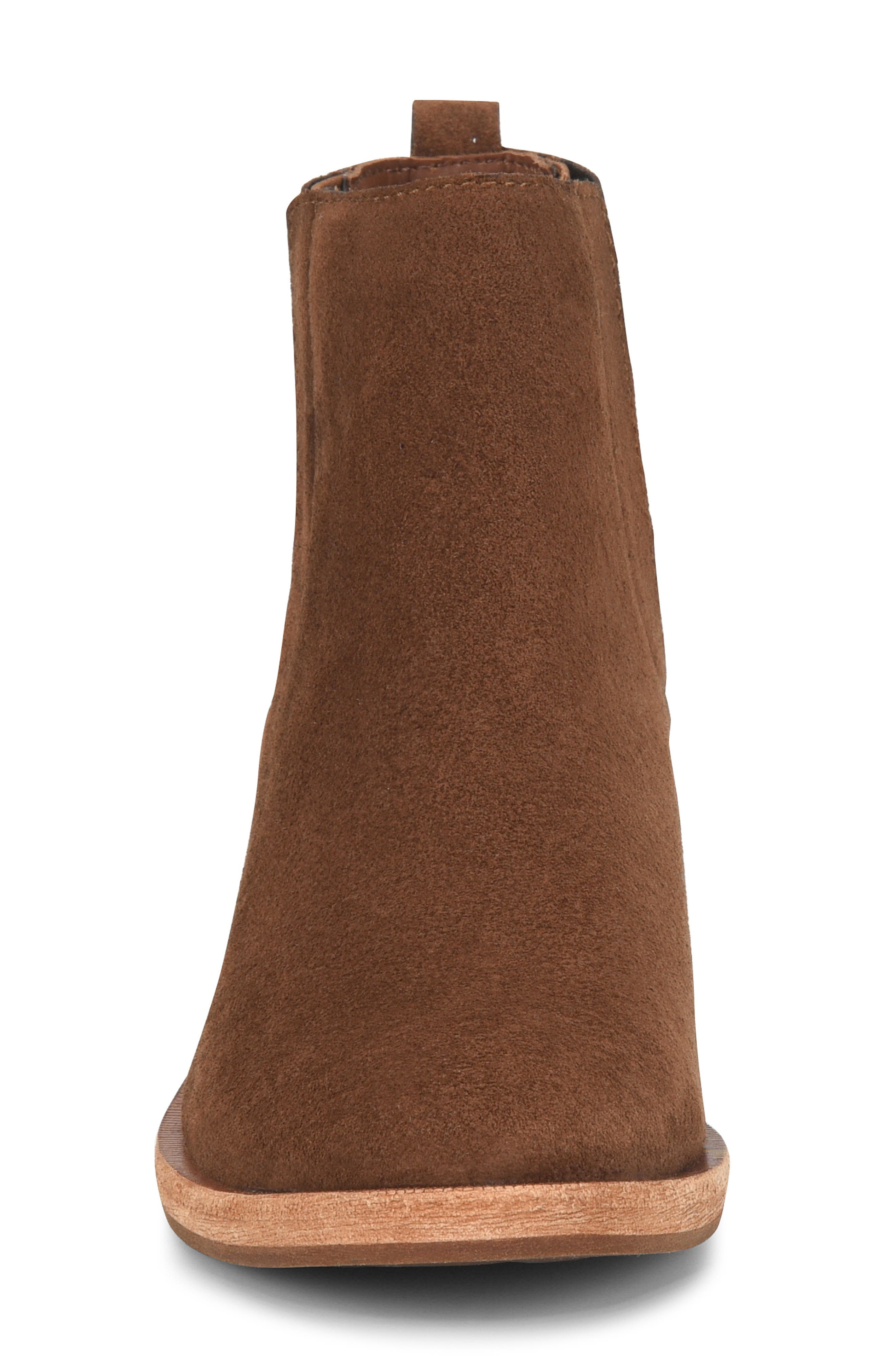 Mindo Chelsea Bootie,                             Alternate thumbnail 4, color,                             BROWN SUEDE