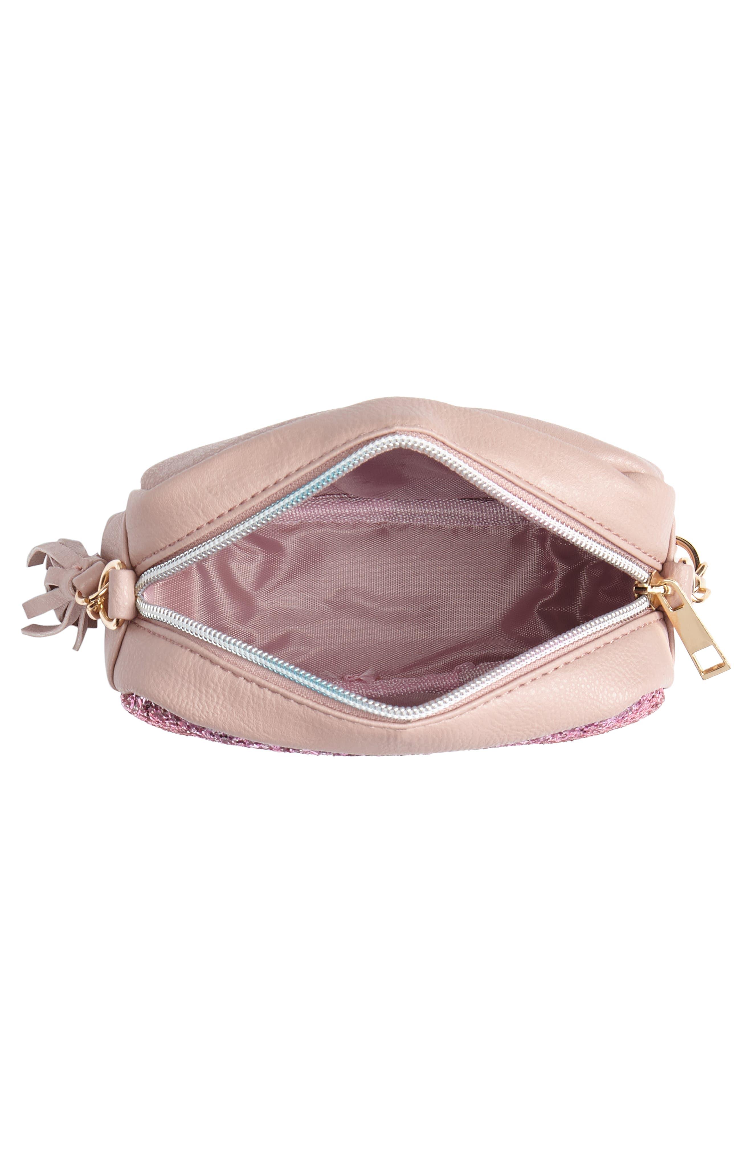 Glitter Crossbody Bag,                             Alternate thumbnail 3, color,                             650