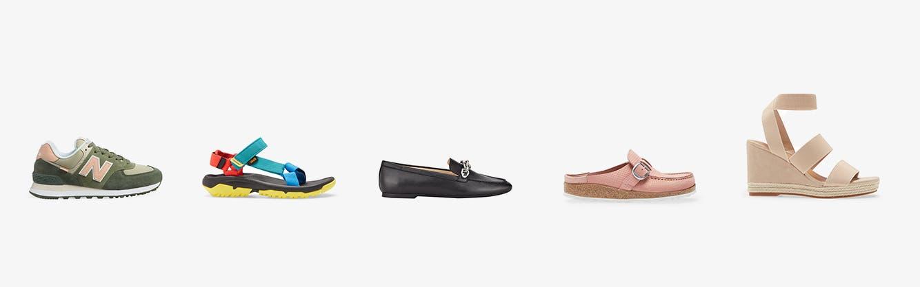 Women's comfort shoes for summer.