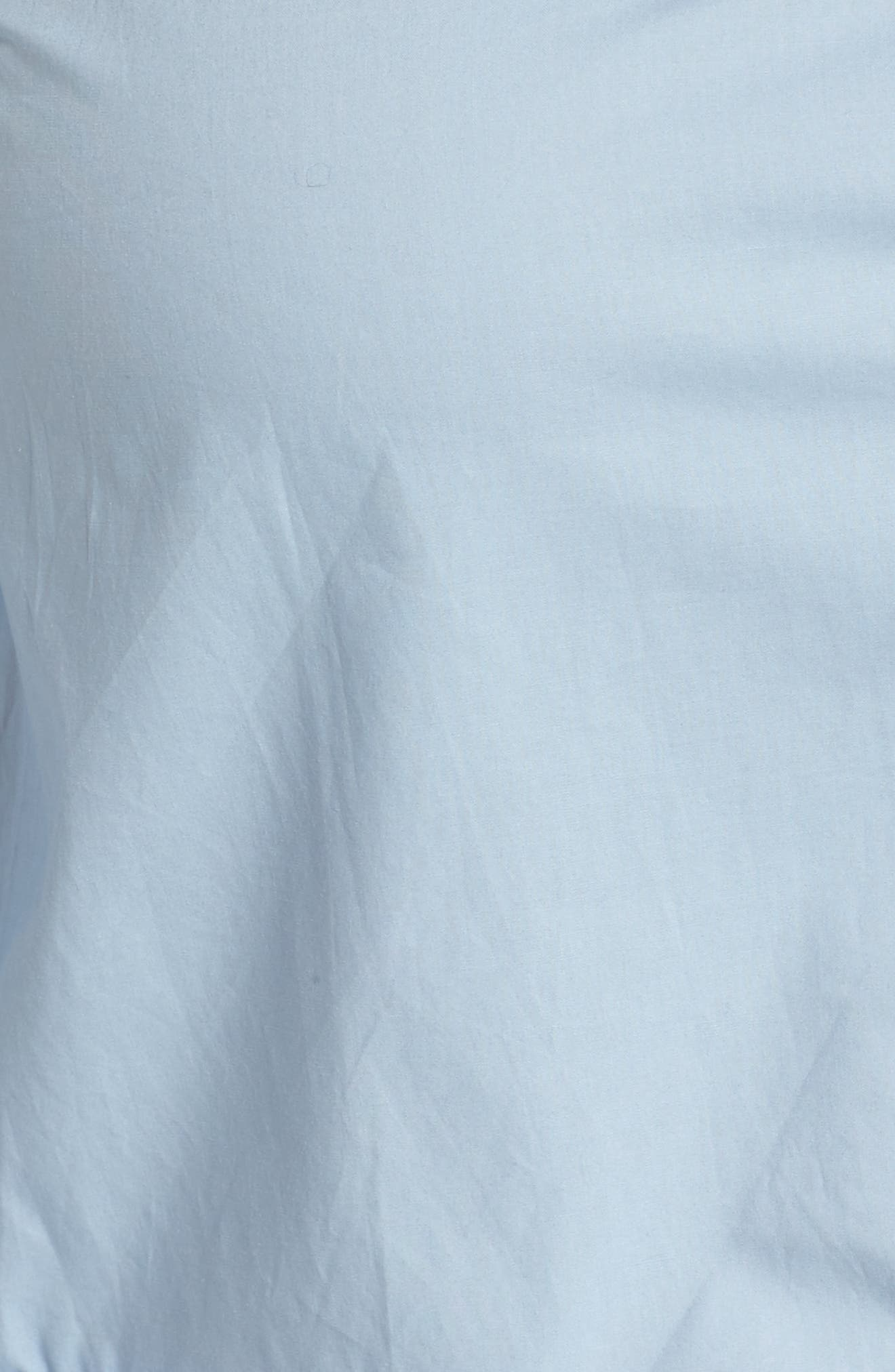 Peplum Hem Shirt,                             Alternate thumbnail 5, color,                             400