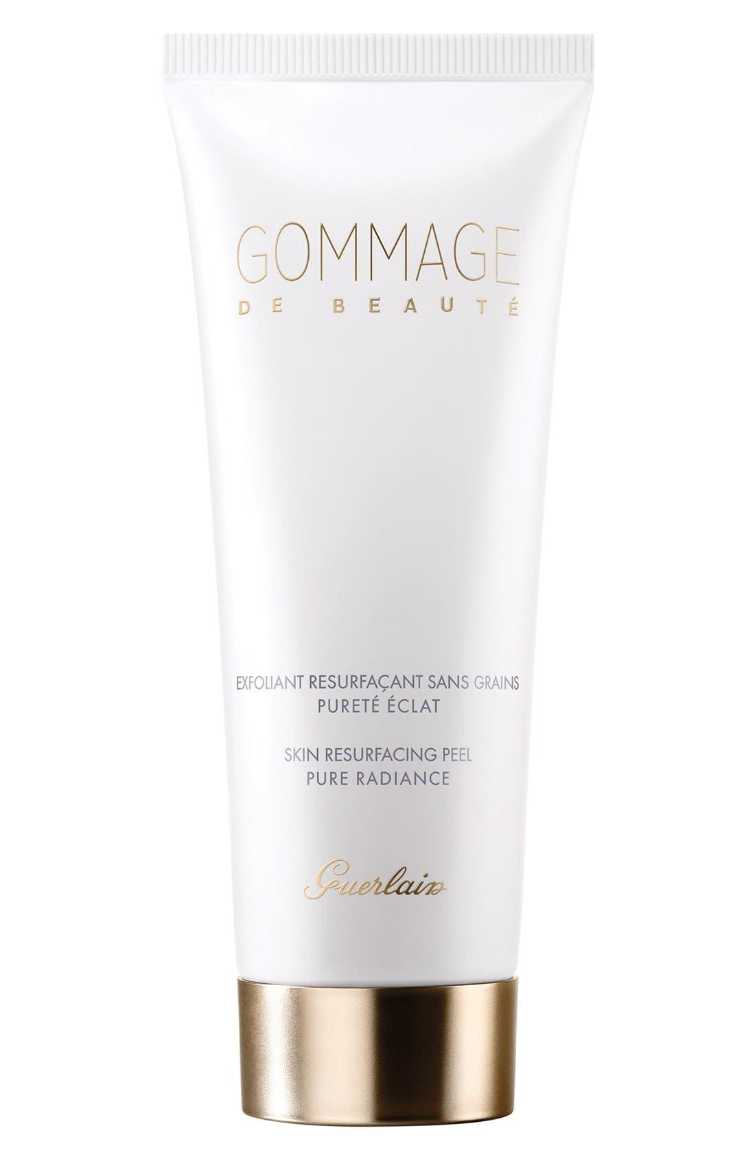 GUERLAIN,                             Gommage de Beauté Skin Resurfacing Peel,                             Main thumbnail 1, color,                             000