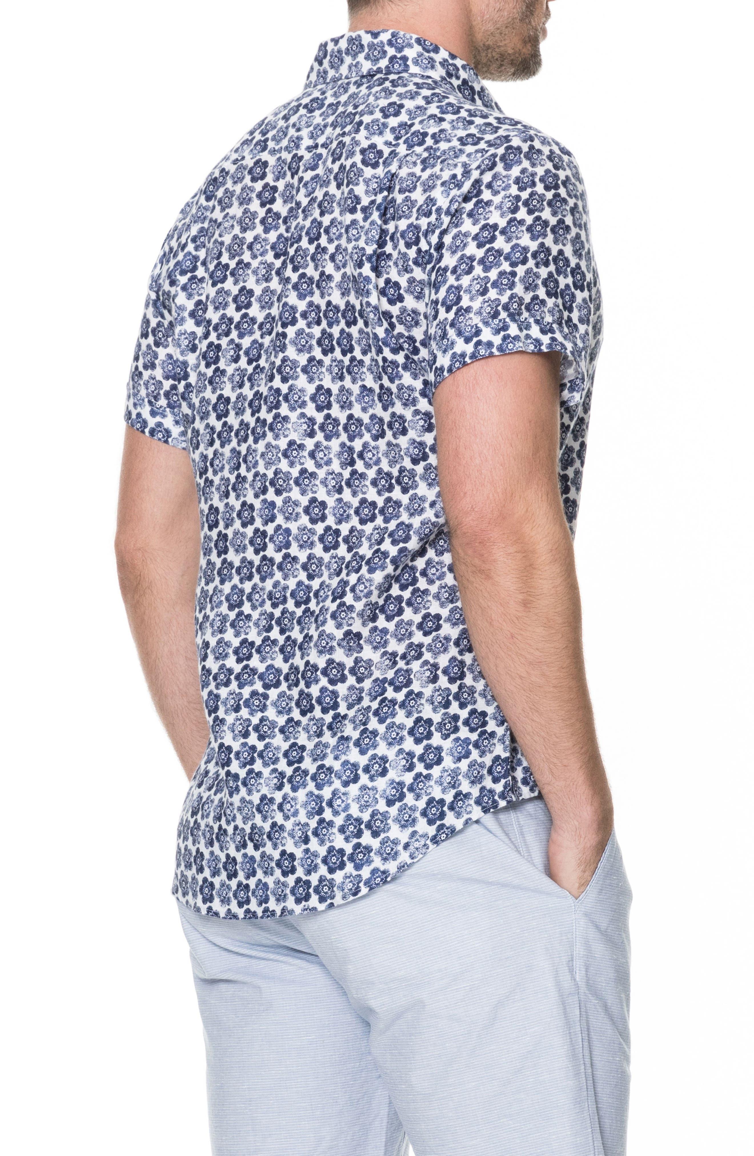 Keyburn Regular Fit Sport Shirt,                             Alternate thumbnail 2, color,                             PEACOAT
