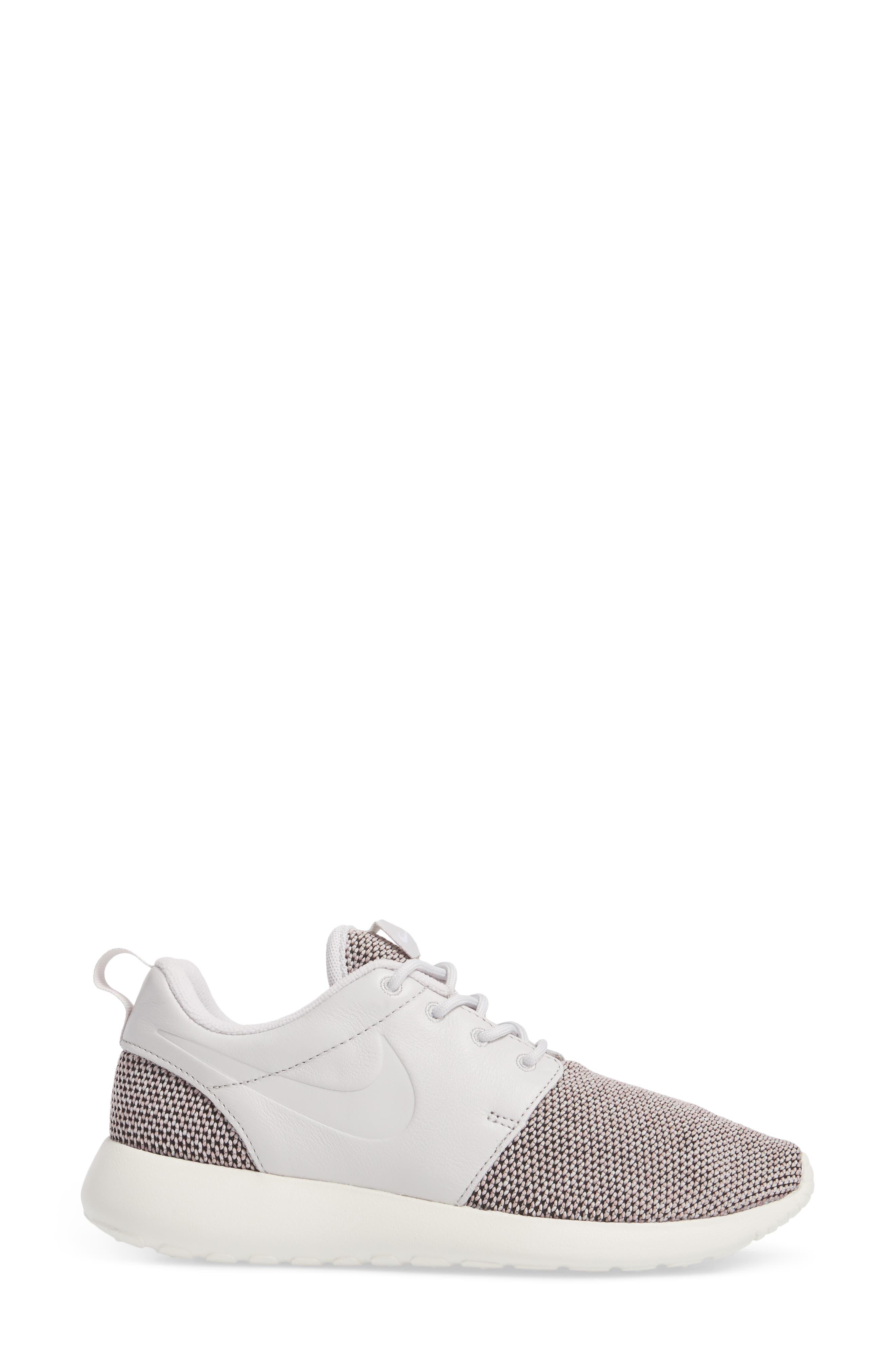 Roshe One Knit Sneaker,                             Alternate thumbnail 6, color,