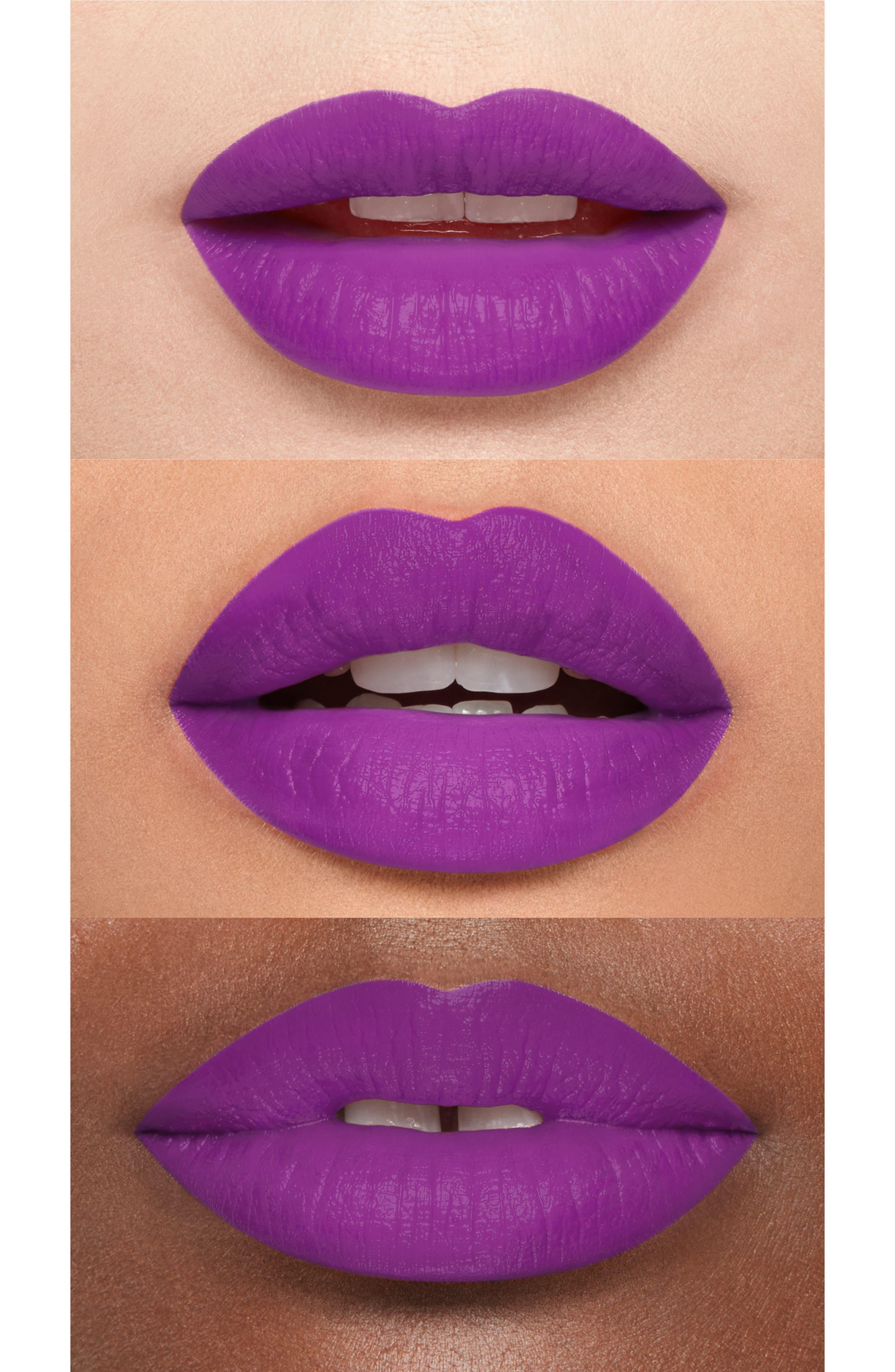 Be Legendary Matte Lipstick,                             Alternate thumbnail 2, color,                             VIOLET RIOT MATTE