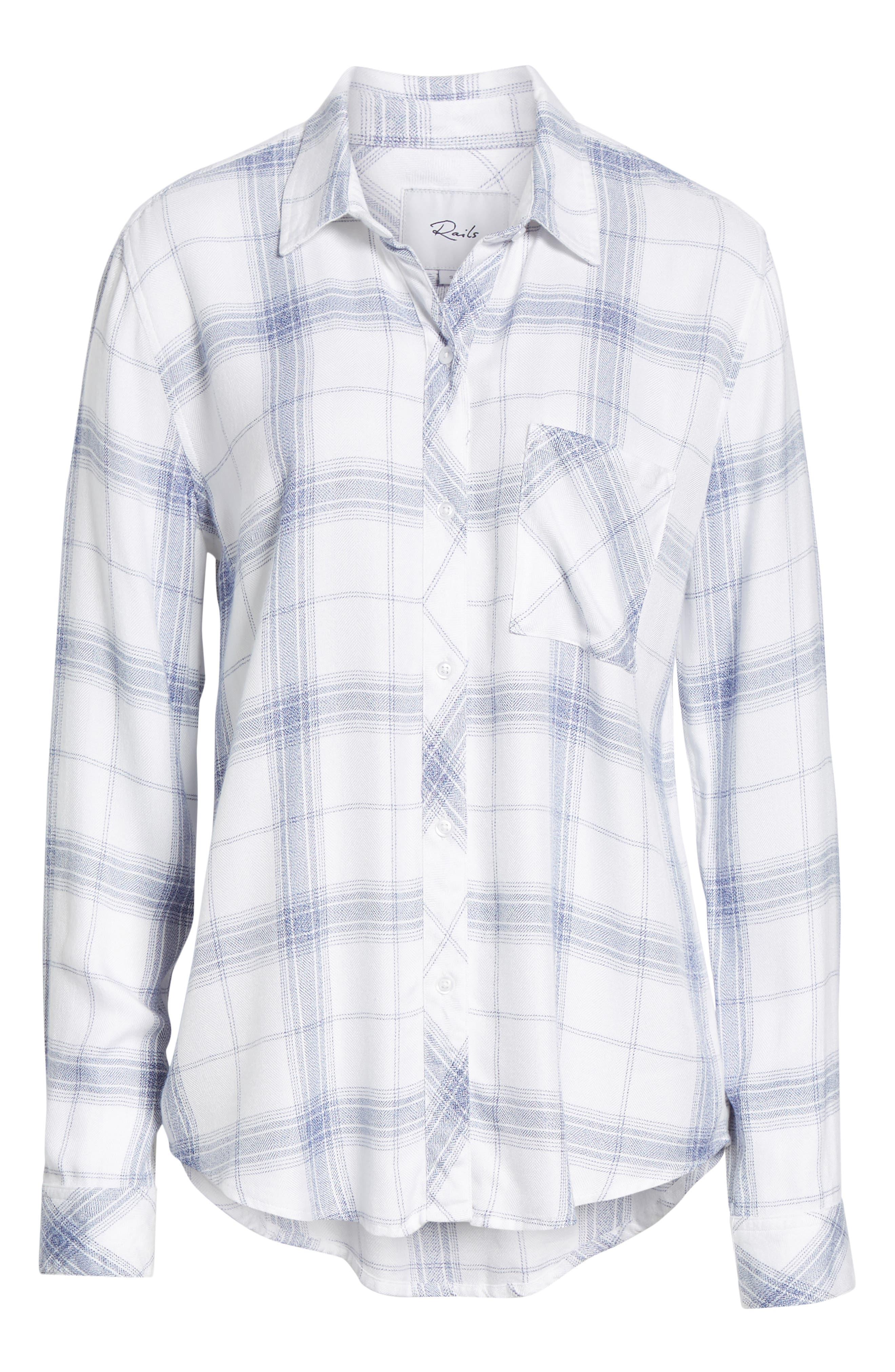 Hunter Plaid Shirt,                             Alternate thumbnail 677, color,
