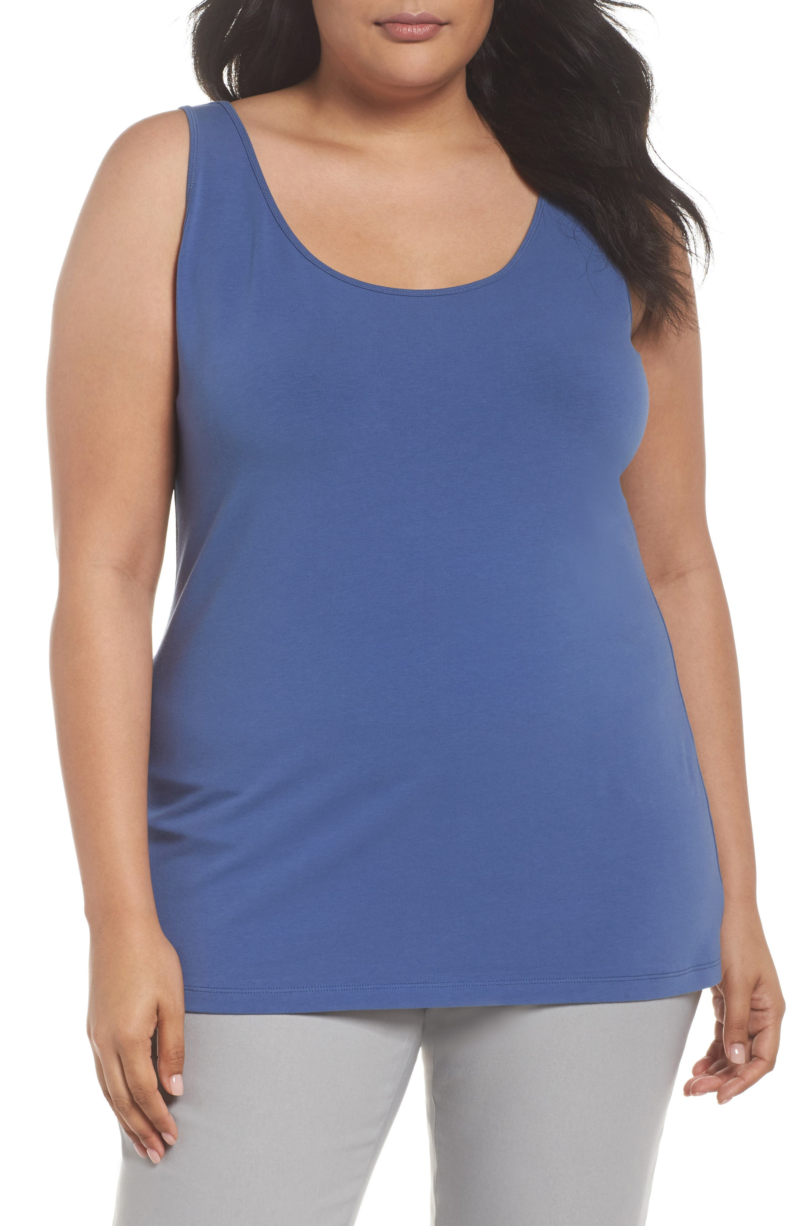 NIC+ZOE Perfect Scoop Tank, Main, color, 401