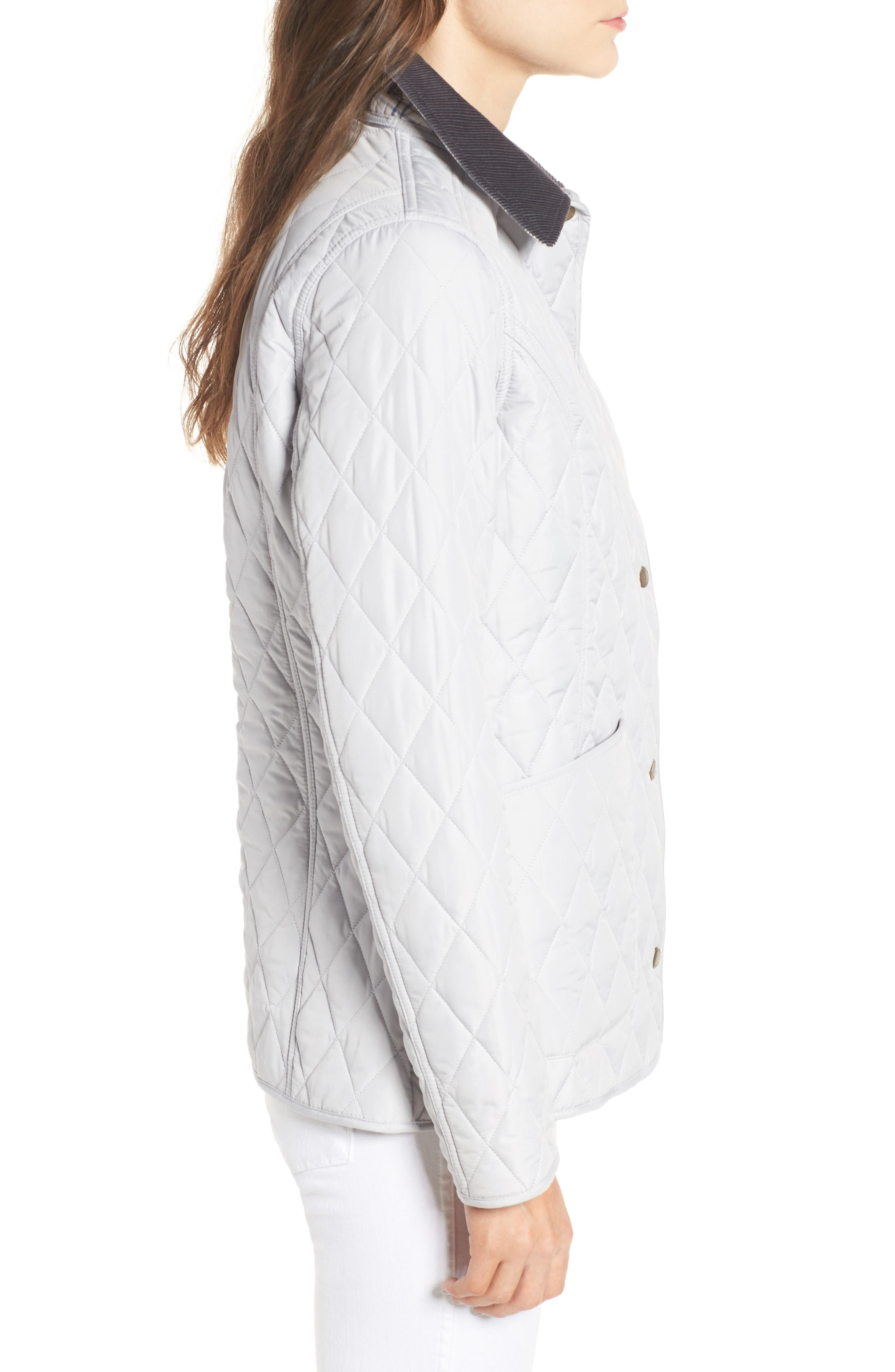 Spring Annandale Quilted Jacket,                             Alternate thumbnail 10, color,