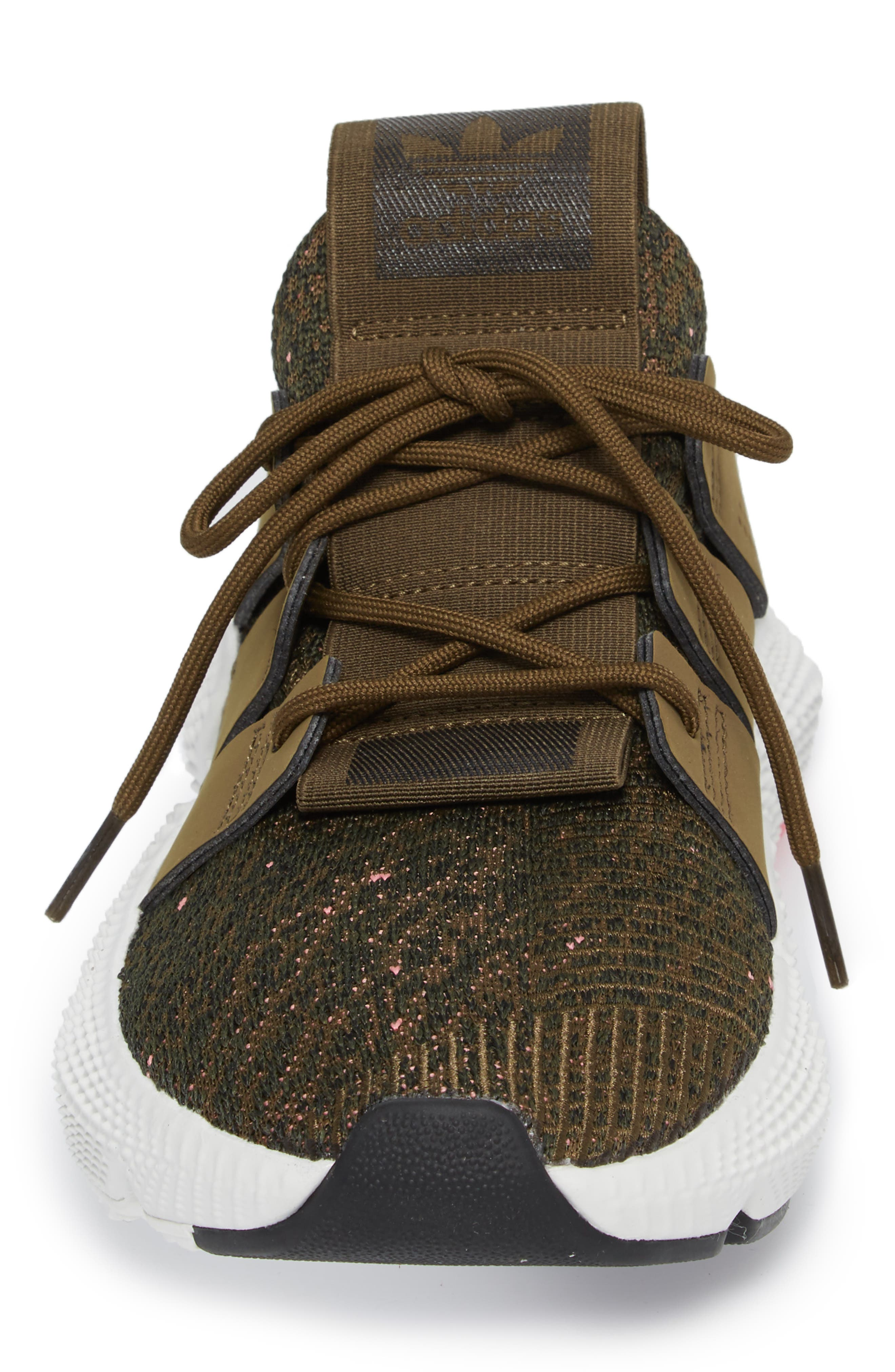 Prophere Sneaker,                             Alternate thumbnail 4, color,                             TRACE OLIVE/ CHALK PINK