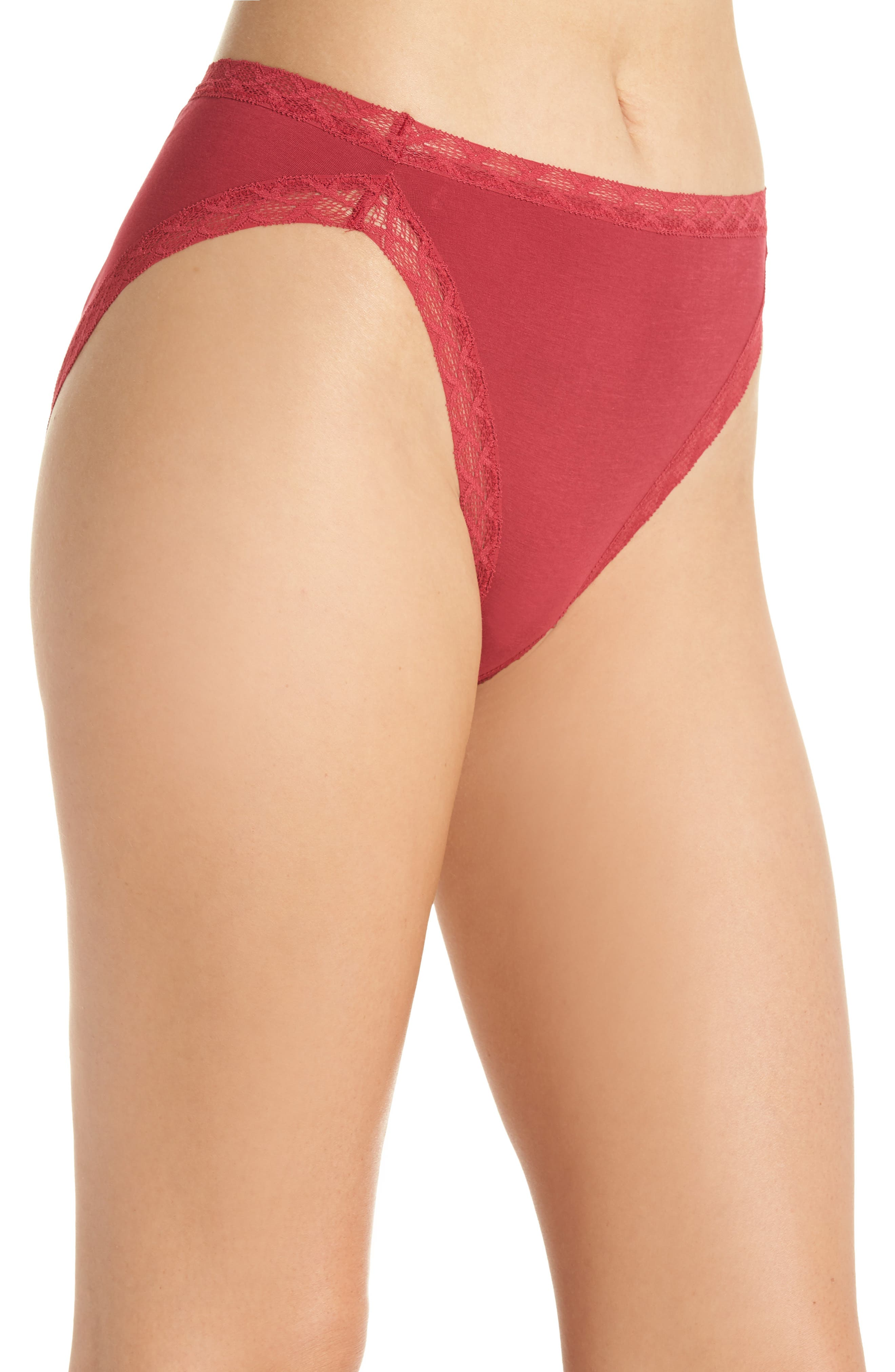 Bliss French Cut Briefs,                             Alternate thumbnail 3, color,                             625