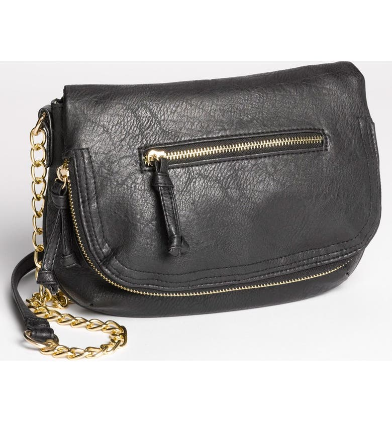 6bbb04760870 Under One Sky Faux Leather Crossbody Bag (Juniors)
