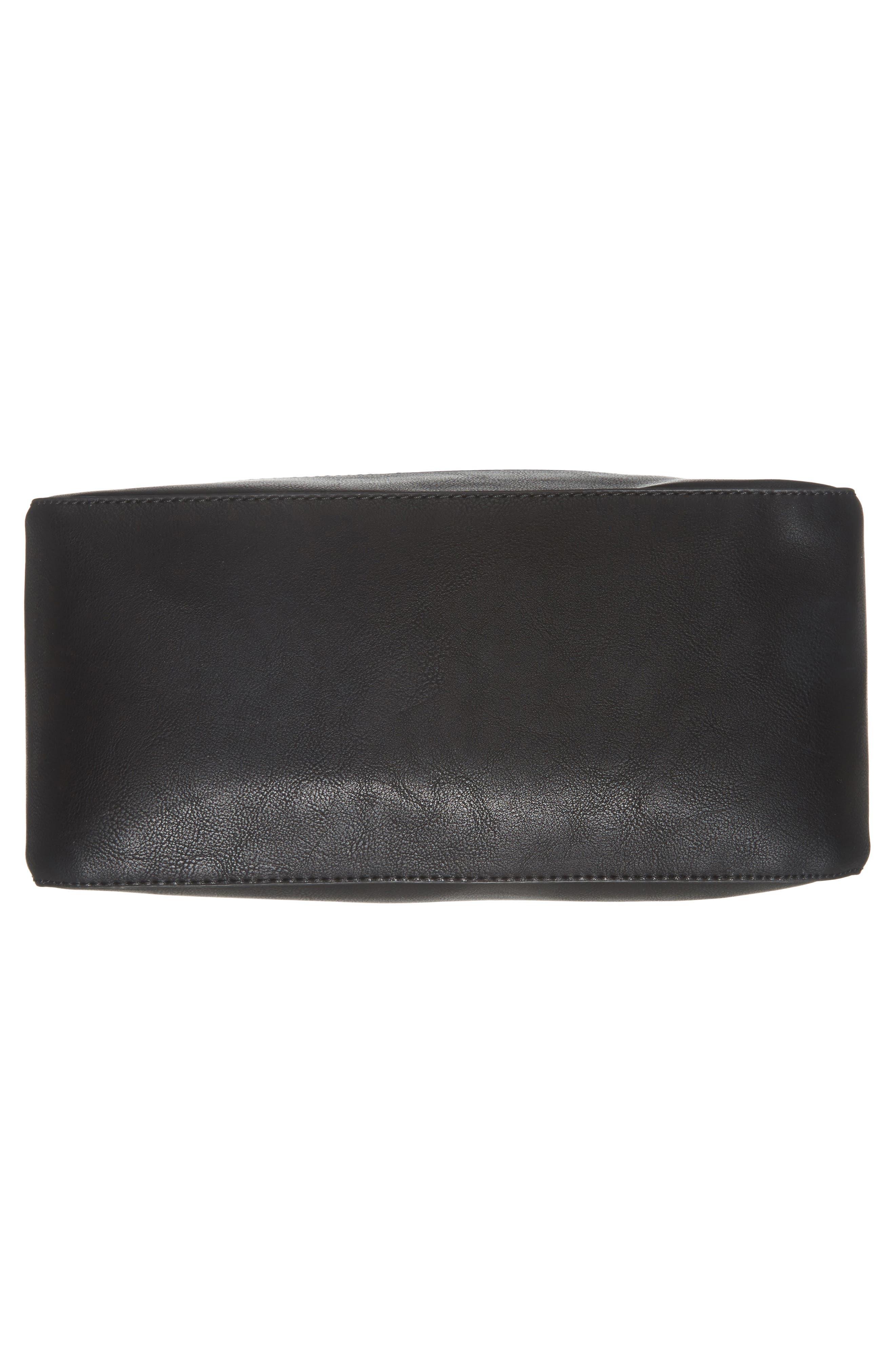Alani Faux Leather Shoulder Bag,                             Alternate thumbnail 11, color,