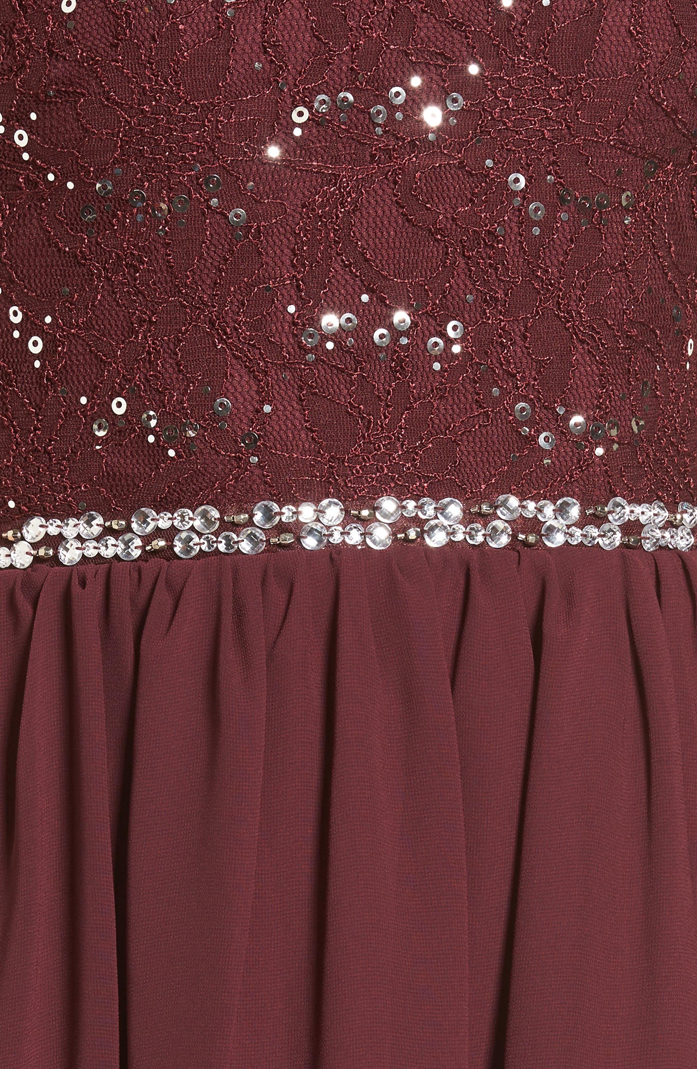 Jeweled Belt Dress,                             Alternate thumbnail 10, color,