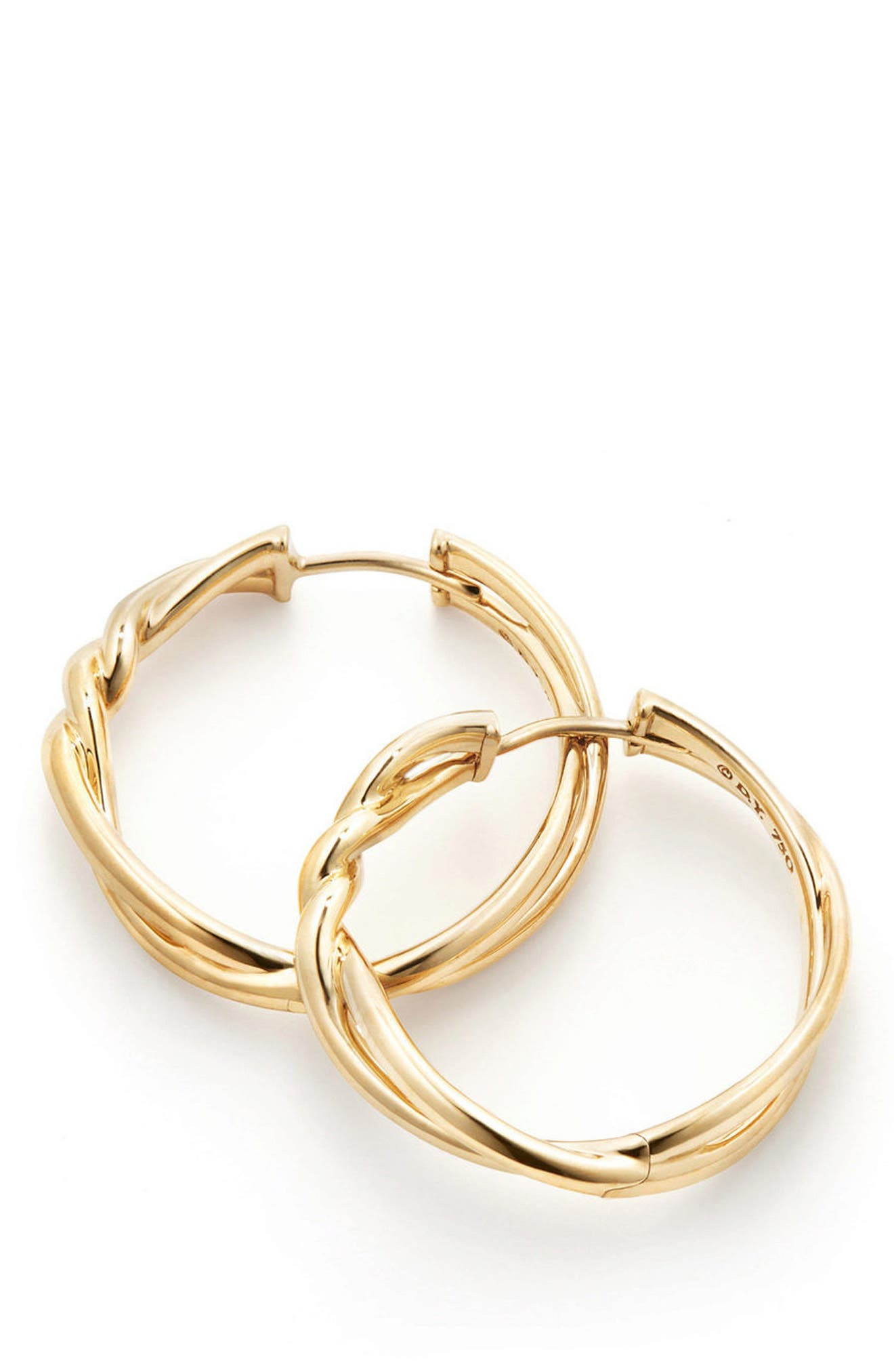 Continuance Hoop Earrings,                         Main,                         color, GOLD