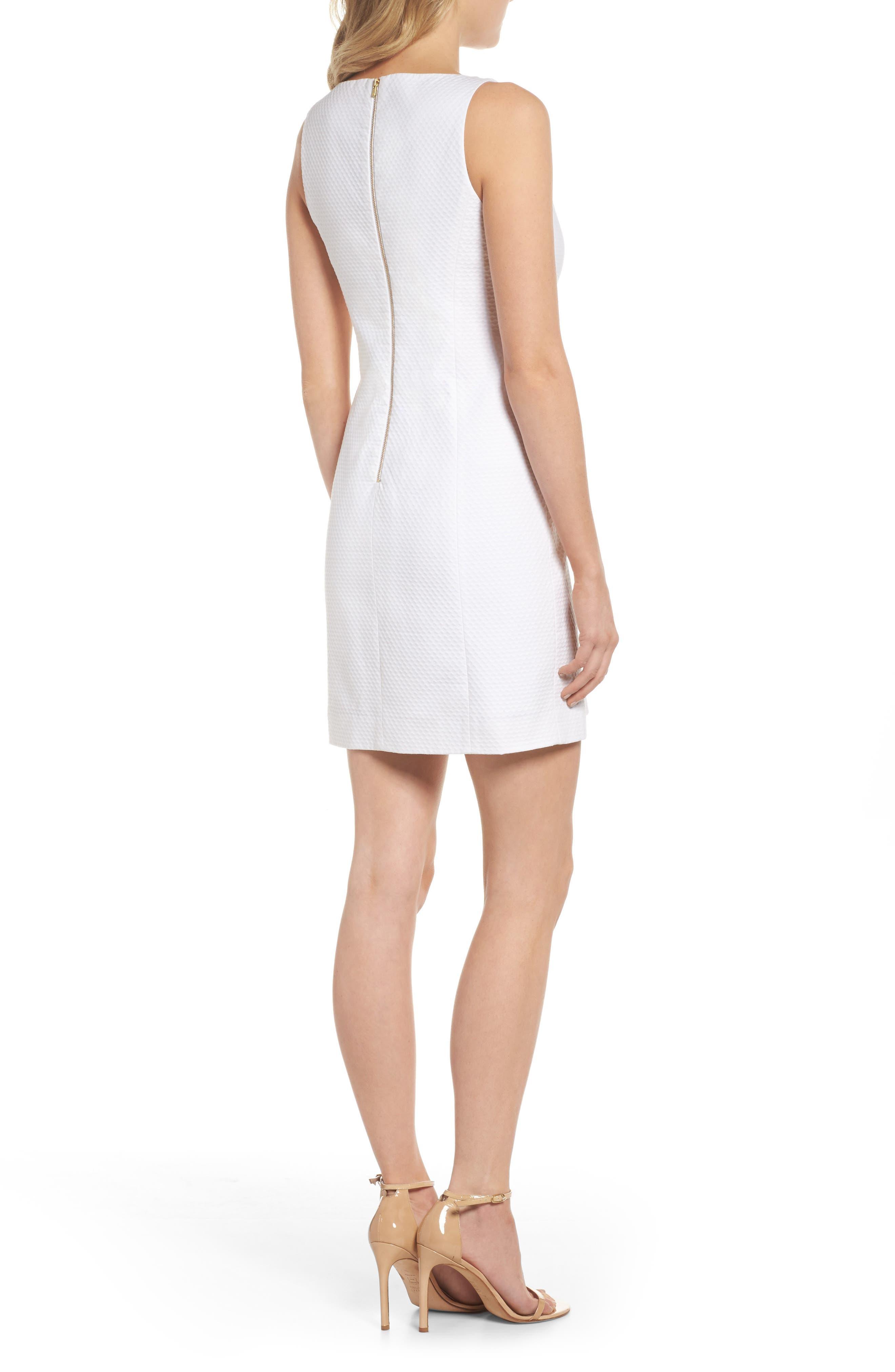 Gabby Metallic Sheath Dress,                             Alternate thumbnail 2, color,                             115