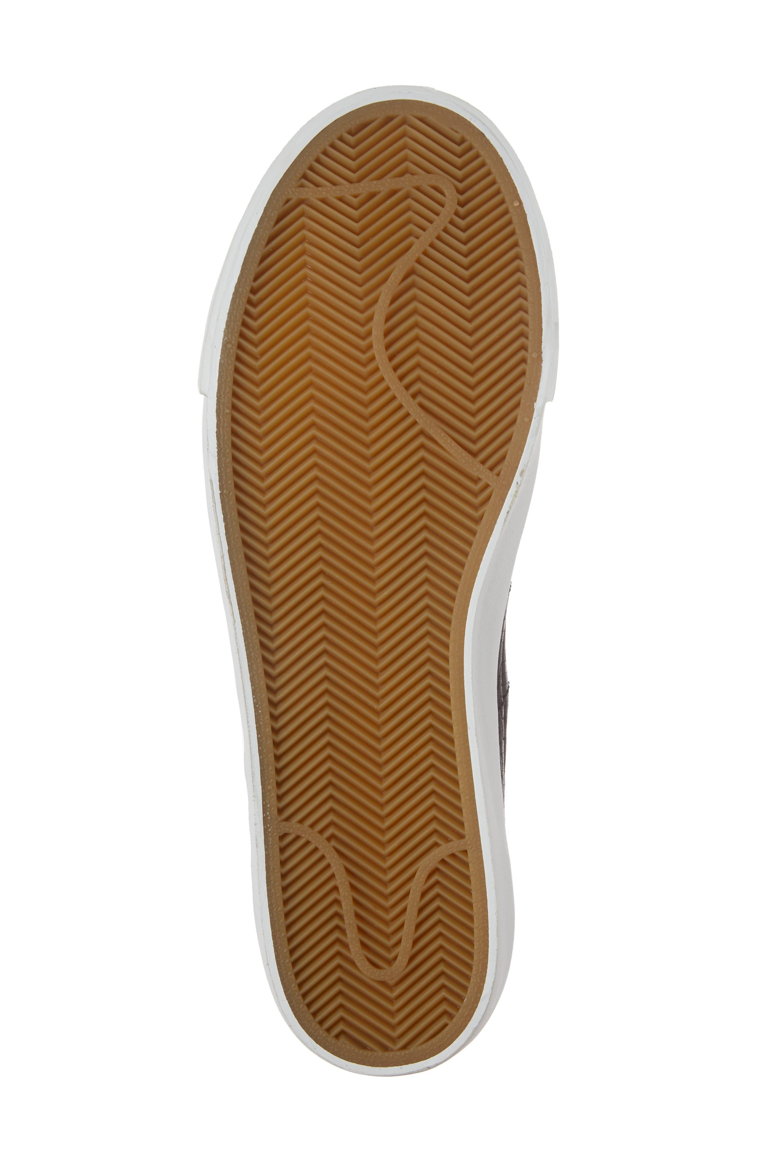 Blazer Studio Sneaker,                             Alternate thumbnail 6, color,                             001