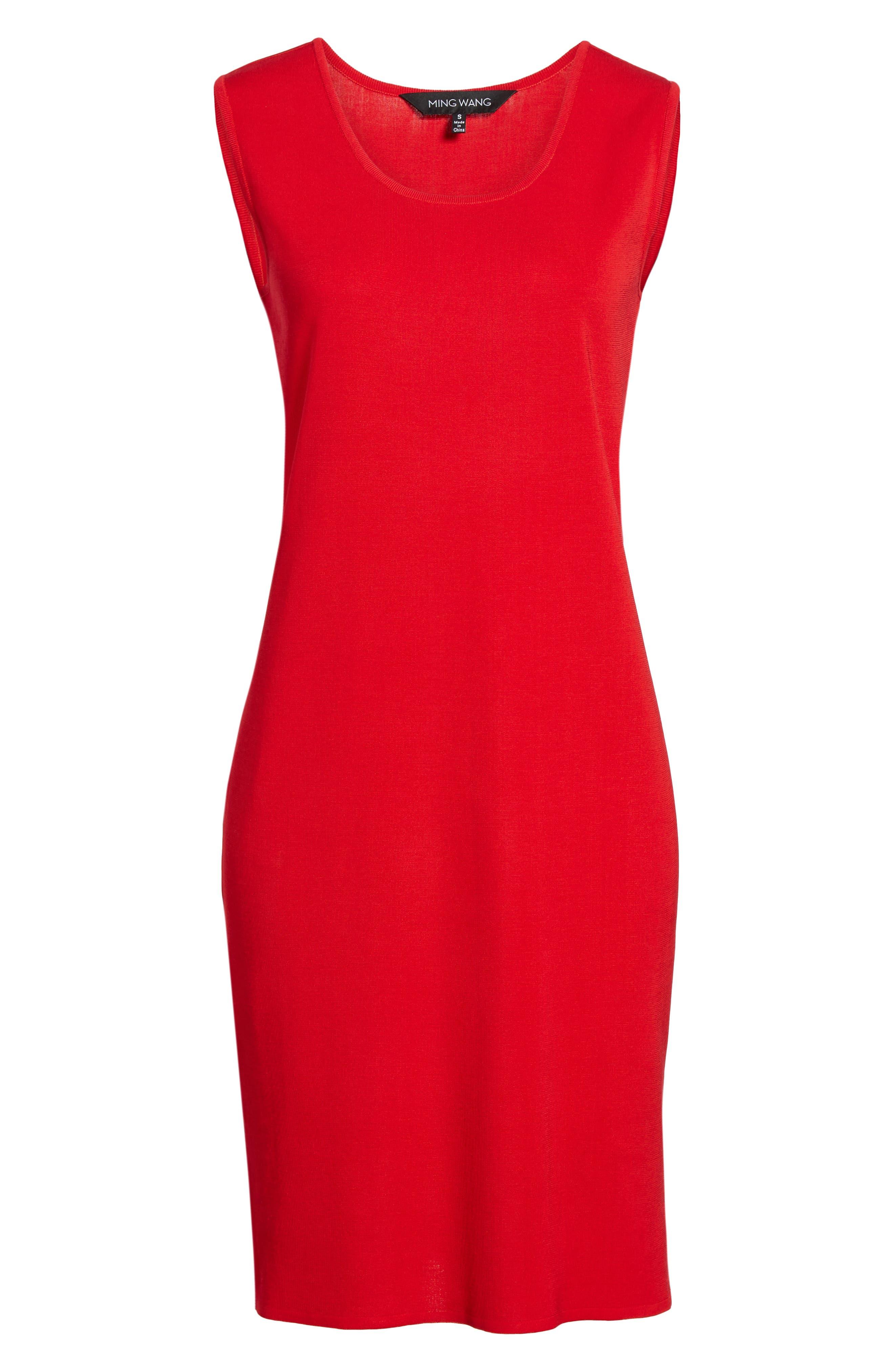 Knit Sheath Dress,                             Alternate thumbnail 6, color,                             608