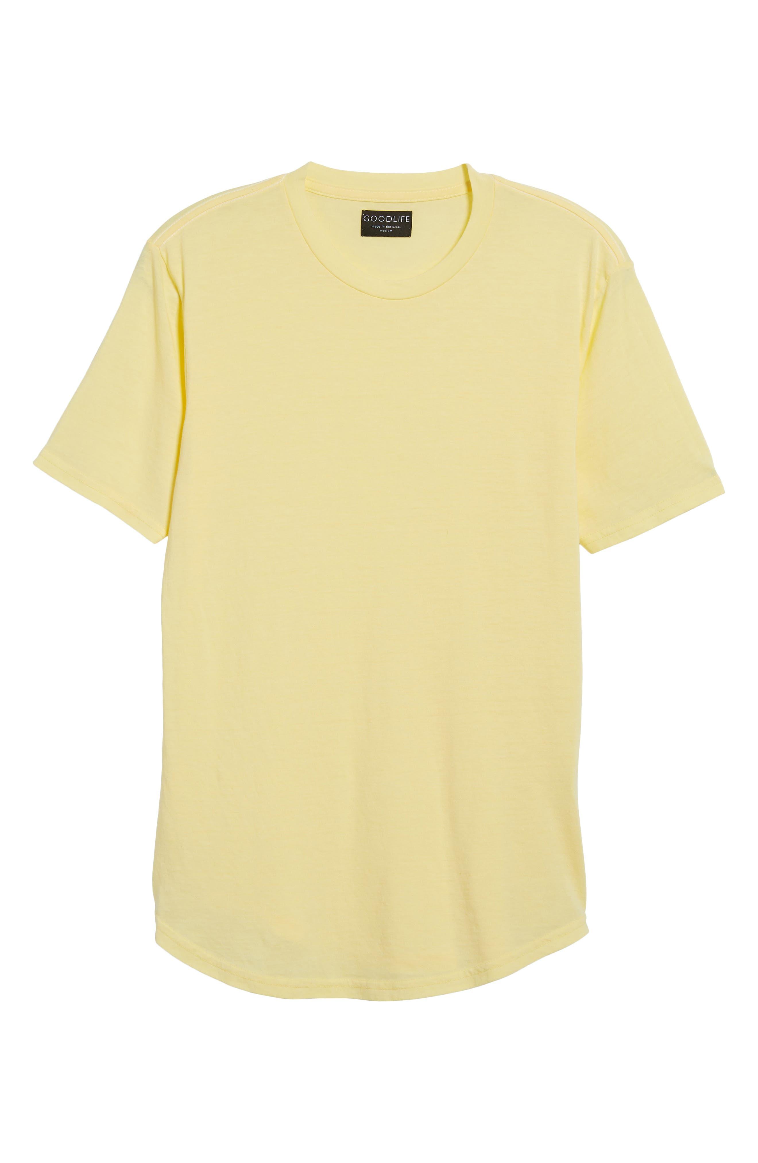 Scallop Triblend Crewneck T-Shirt,                             Alternate thumbnail 117, color,