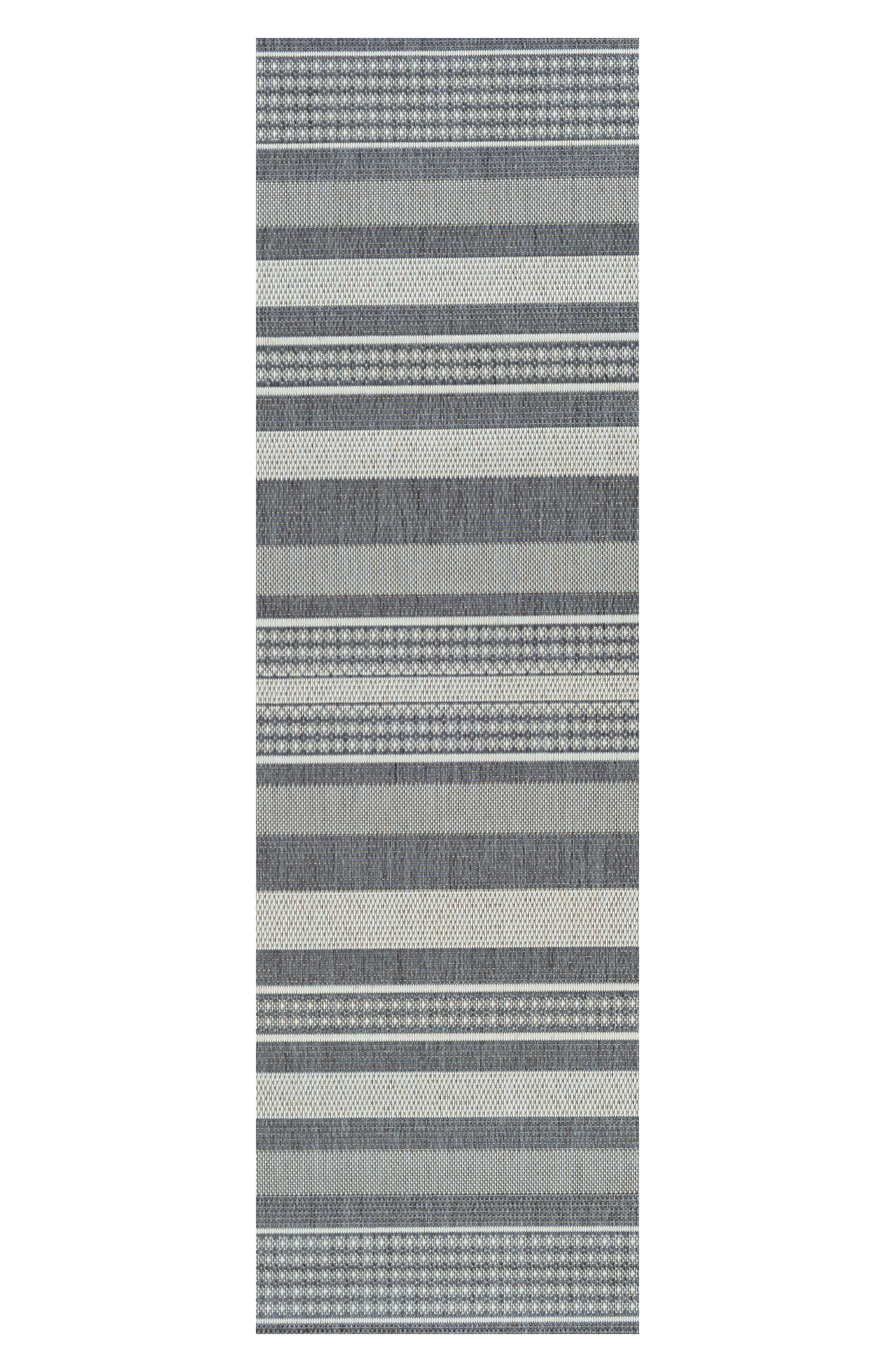 Gazebo Indoor/Outdoor Rug,                             Alternate thumbnail 2, color,                             CHAMPAGNE/ GREY