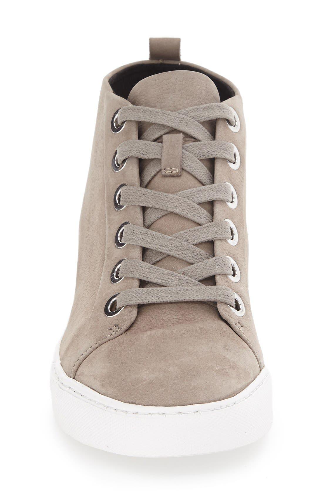 'Kaleb' High Top Sneaker,                             Alternate thumbnail 6, color,