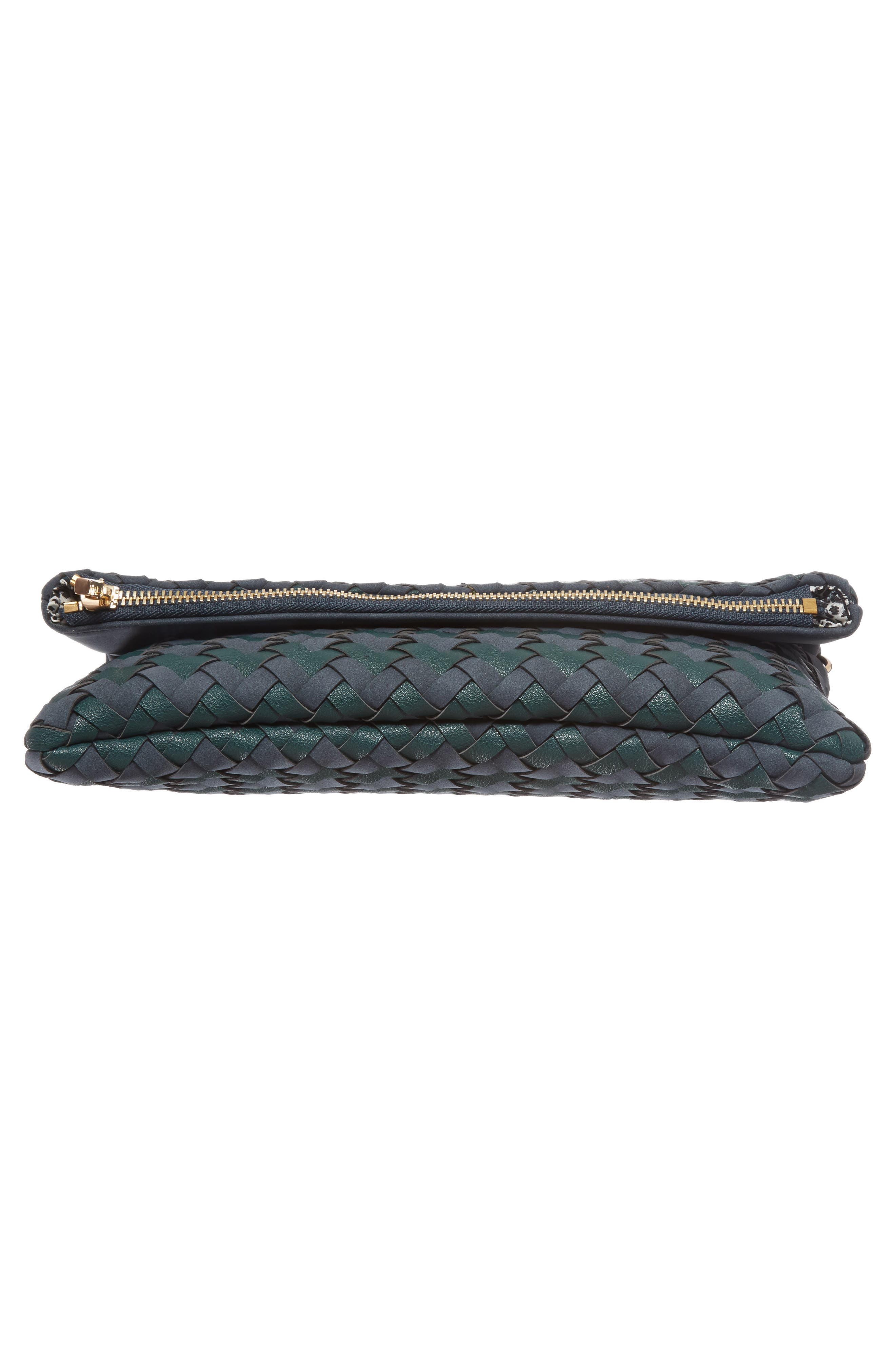 Marlee Woven Clutch,                             Alternate thumbnail 6, color,                             410