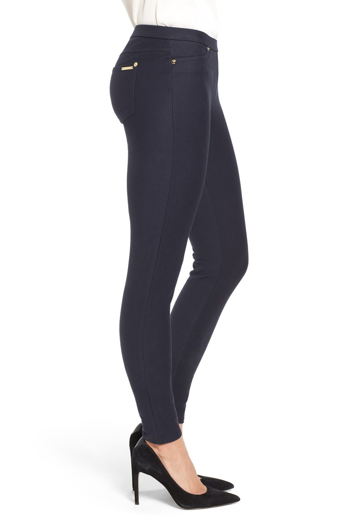 Stretch Twill Leggings,                             Alternate thumbnail 6, color,