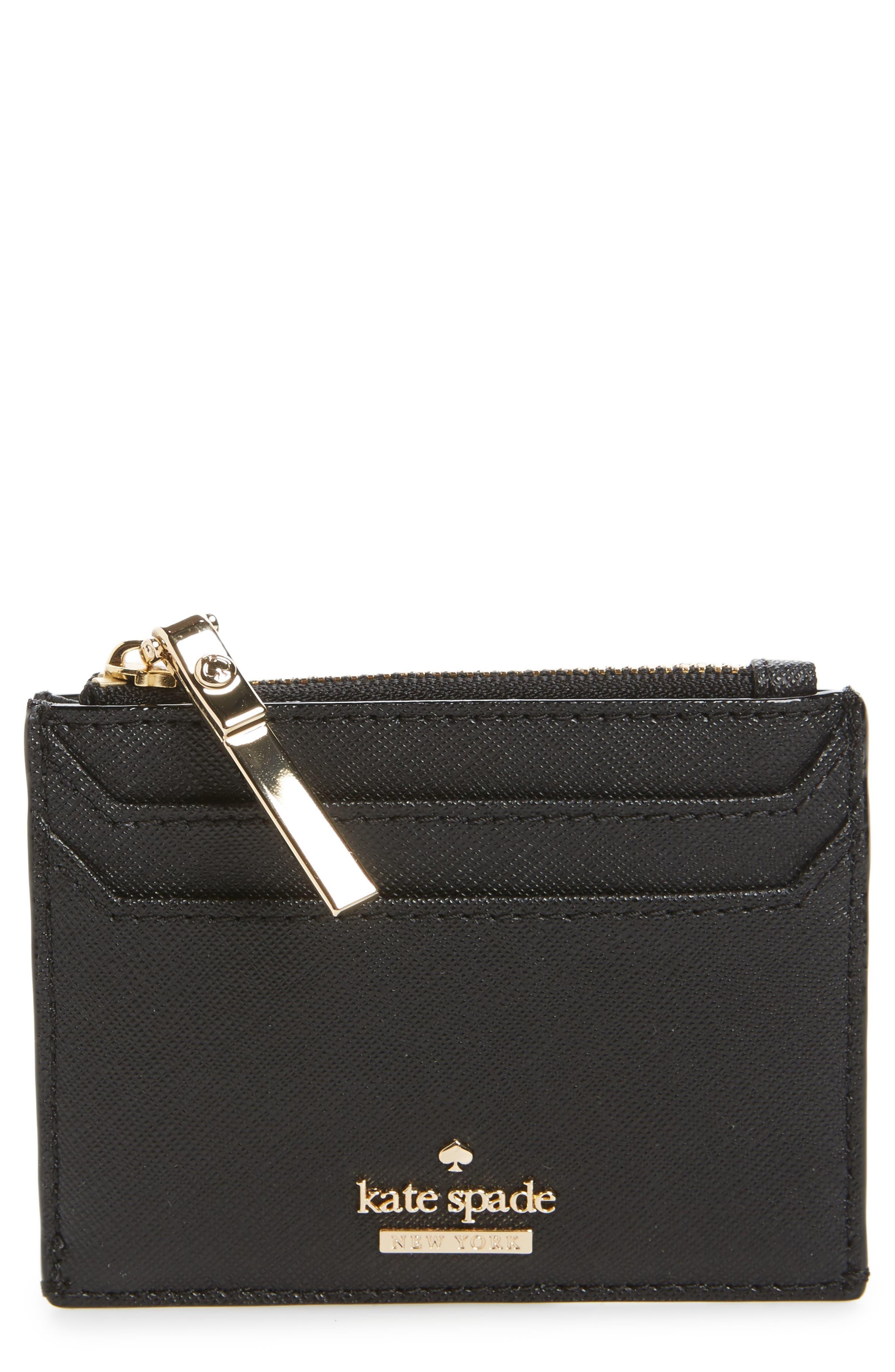 cameron street - lalena leather card case,                         Main,                         color, 001