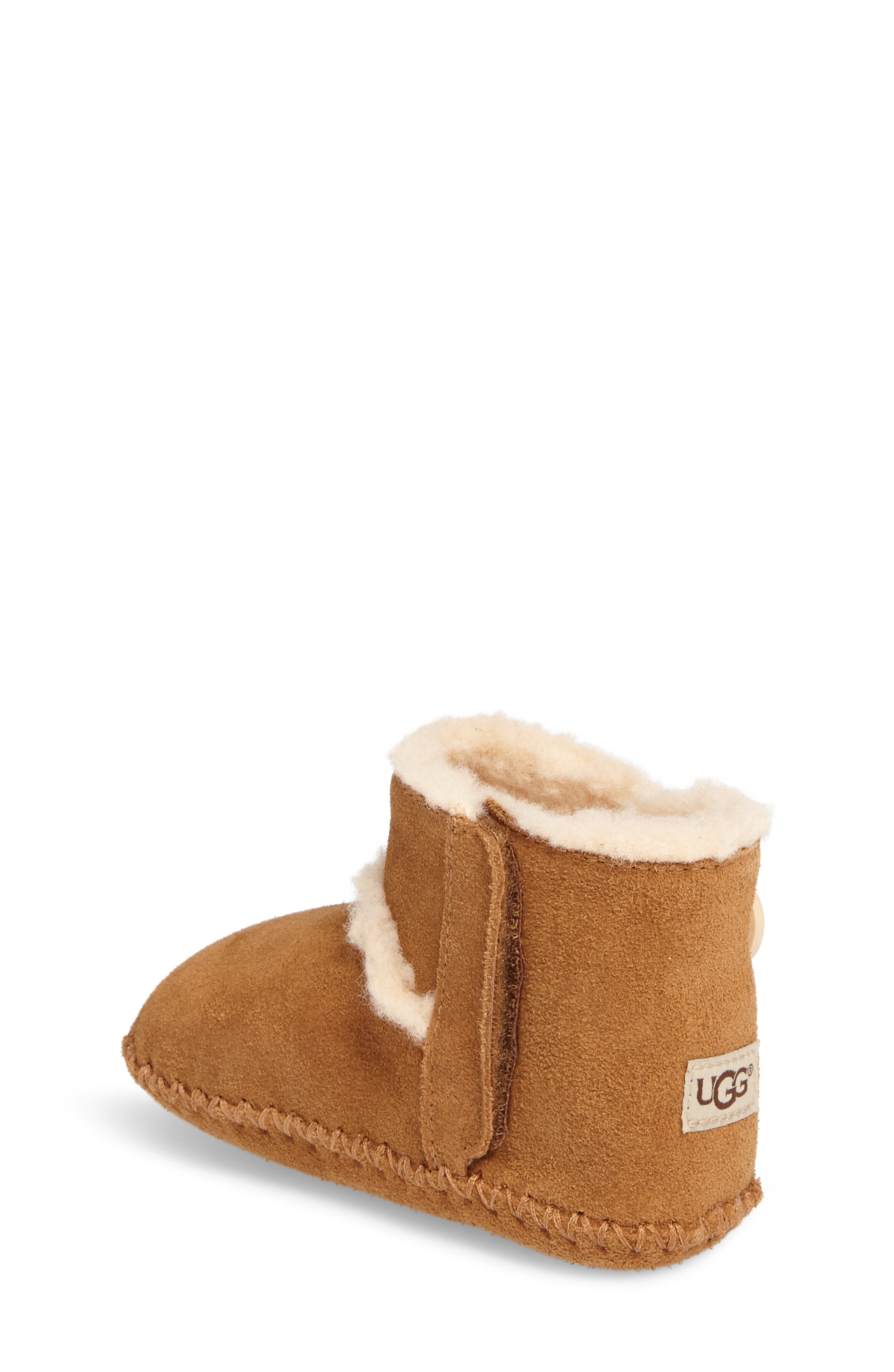 UGG<SUP>®</SUP>,                             Lemmy II Button Bootie,                             Alternate thumbnail 2, color,                             CHESTNUT