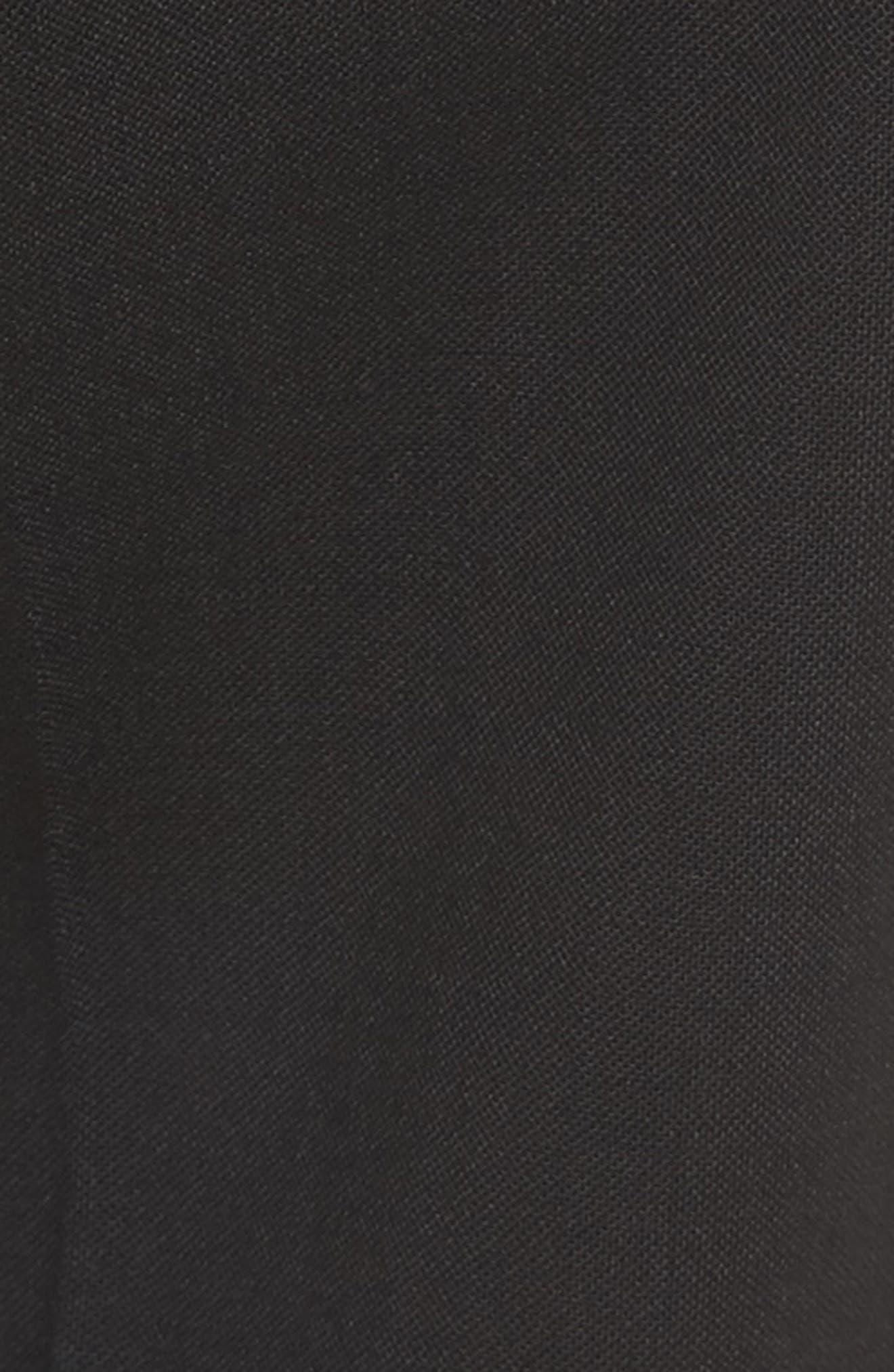 Crop Stretch Wool Pants,                             Alternate thumbnail 9, color,