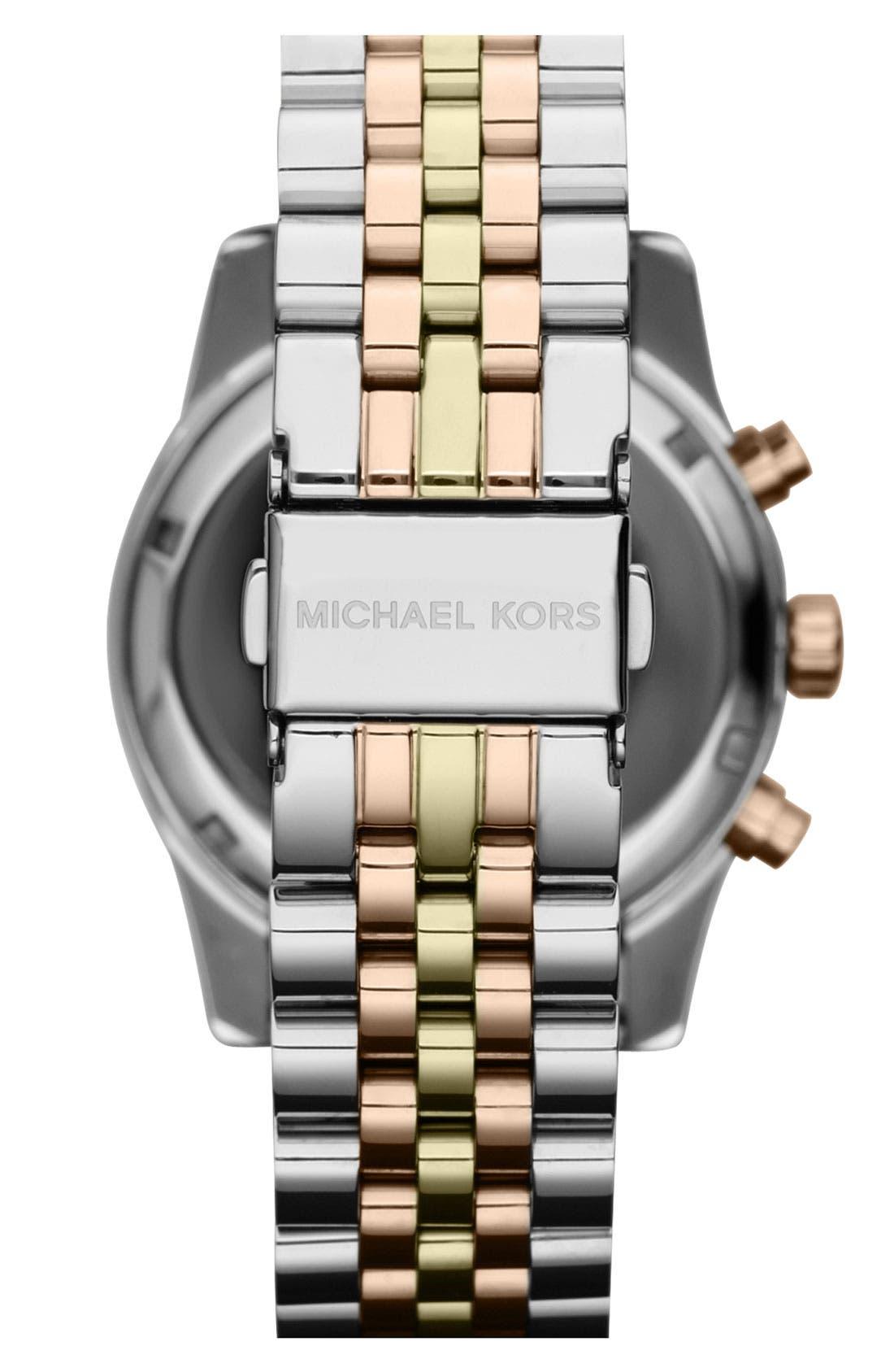 'Lexington' Chronograph Bracelet Watch, 38mm,                             Alternate thumbnail 14, color,