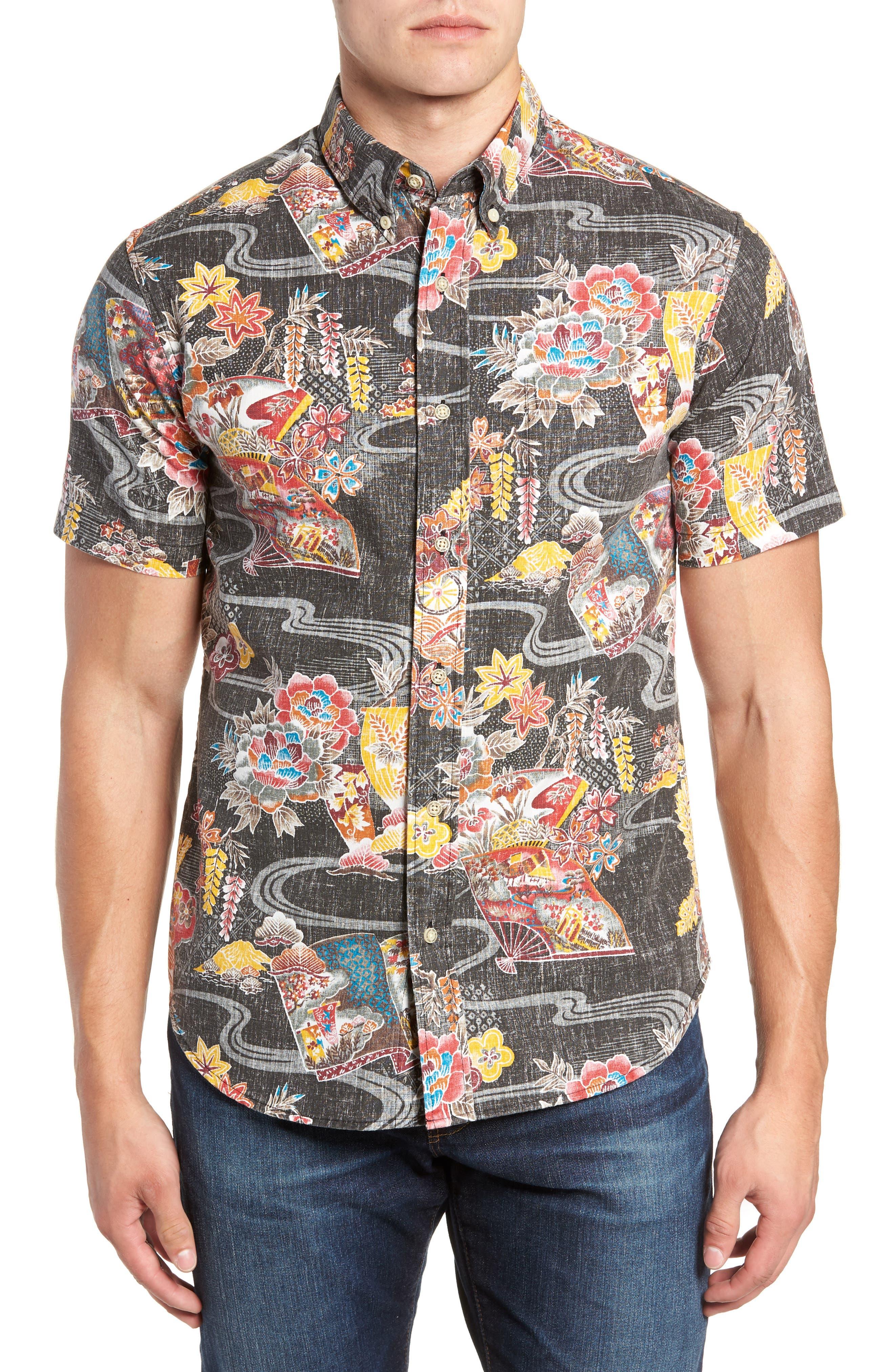 Mizu No Kokoro Regular Fit Sport Shirt,                             Main thumbnail 1, color,                             001