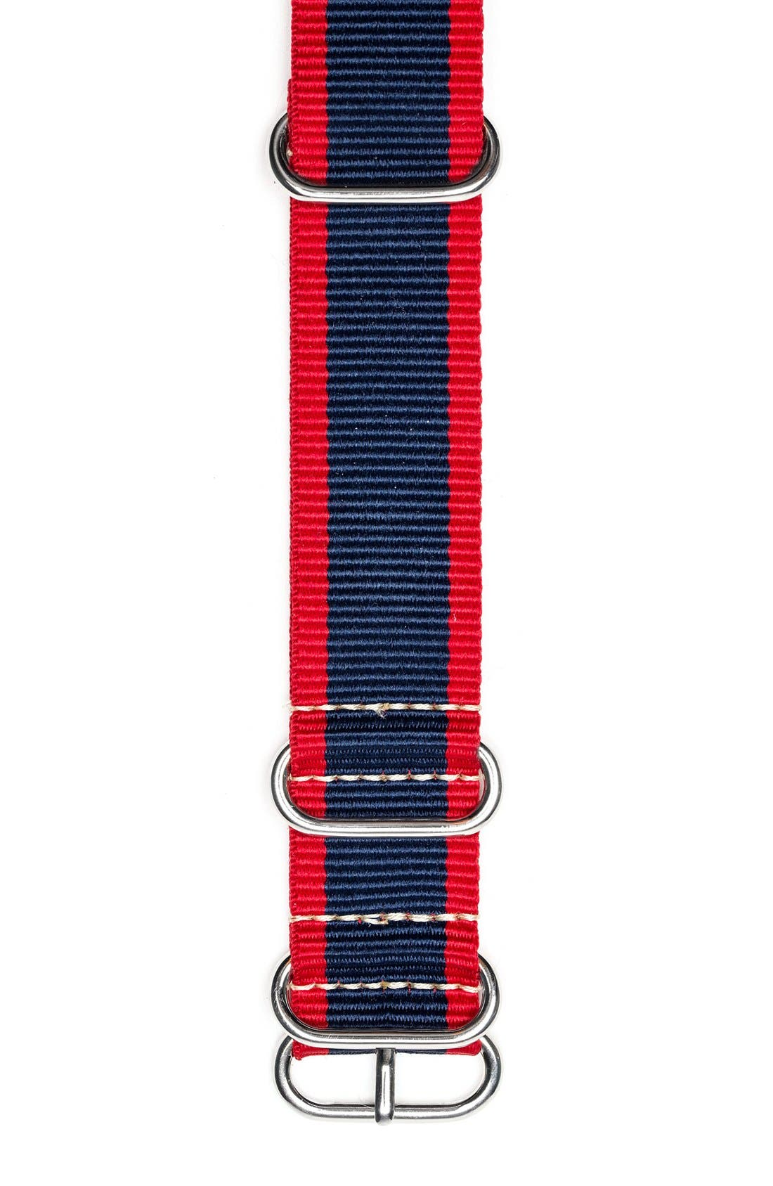 Nylon Nato Strap, 22mm,                             Alternate thumbnail 2, color,                             409